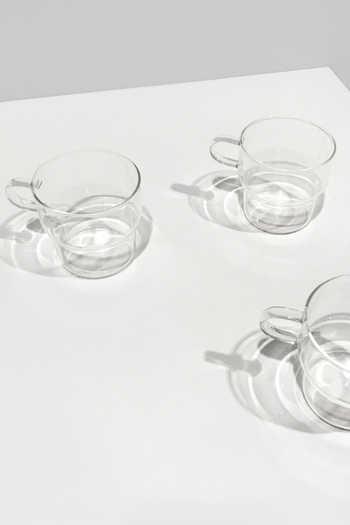 Clear Glass Mug 3135