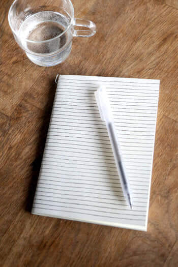 Lined Print Notebook 3306