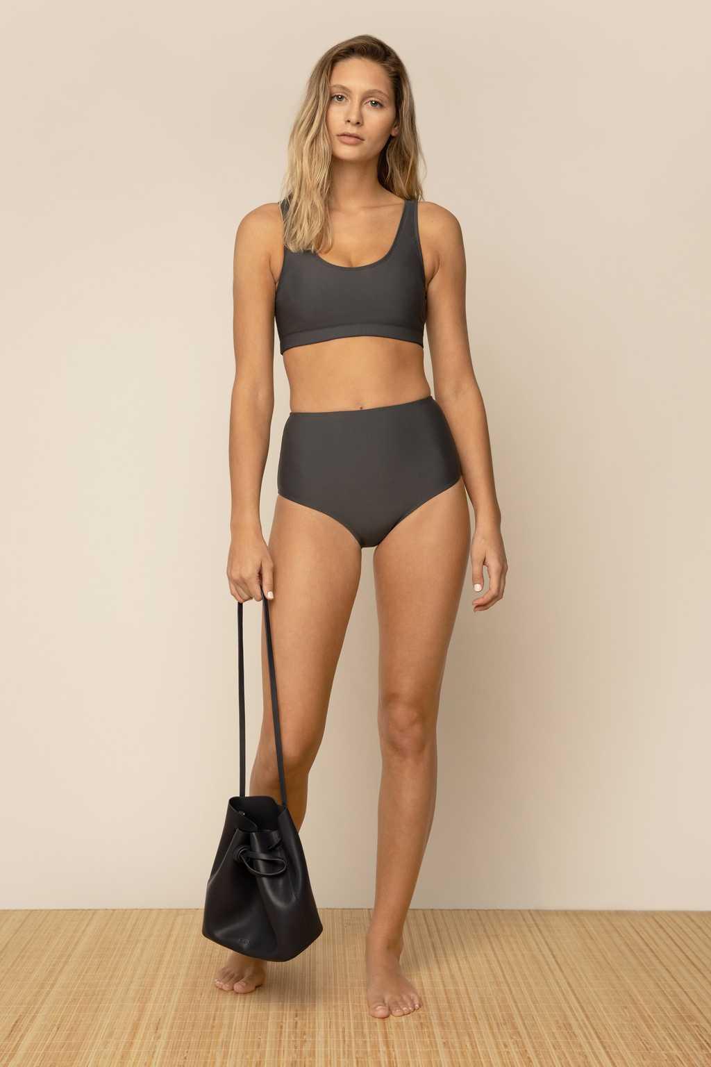 Bikini Top 2906 Gray 14