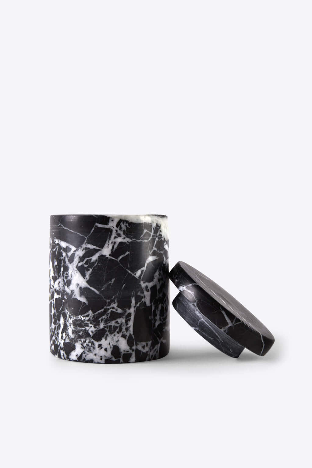 Black Marbled Canister 3127 Black 1