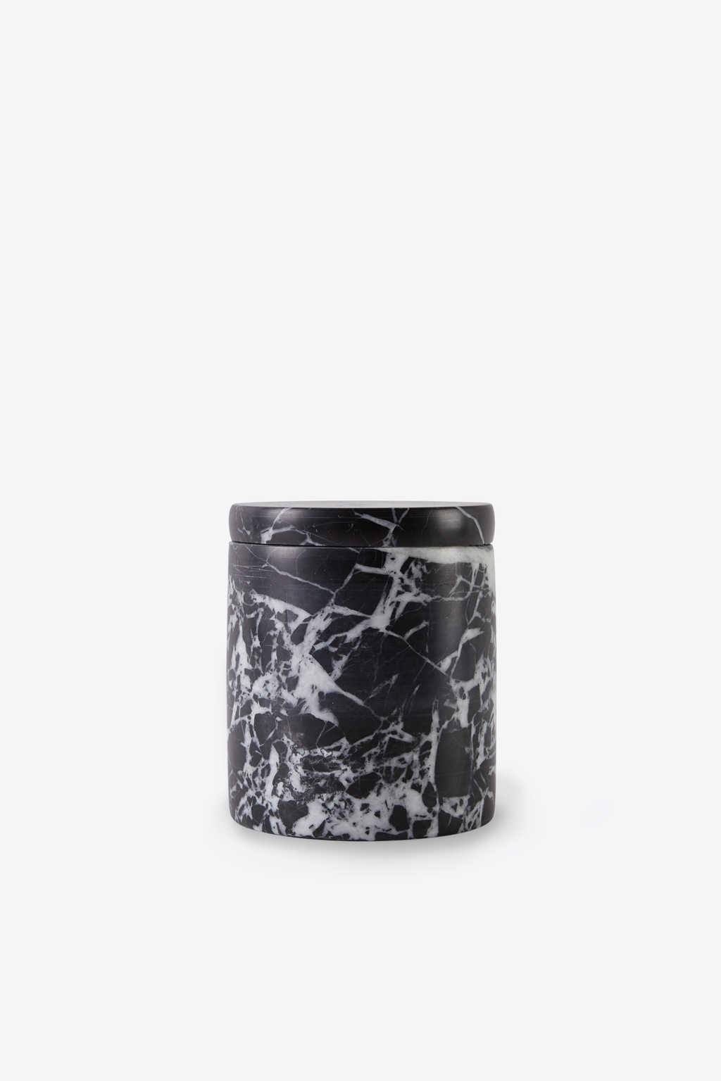 Black Marbled Canister 3127 Black 2