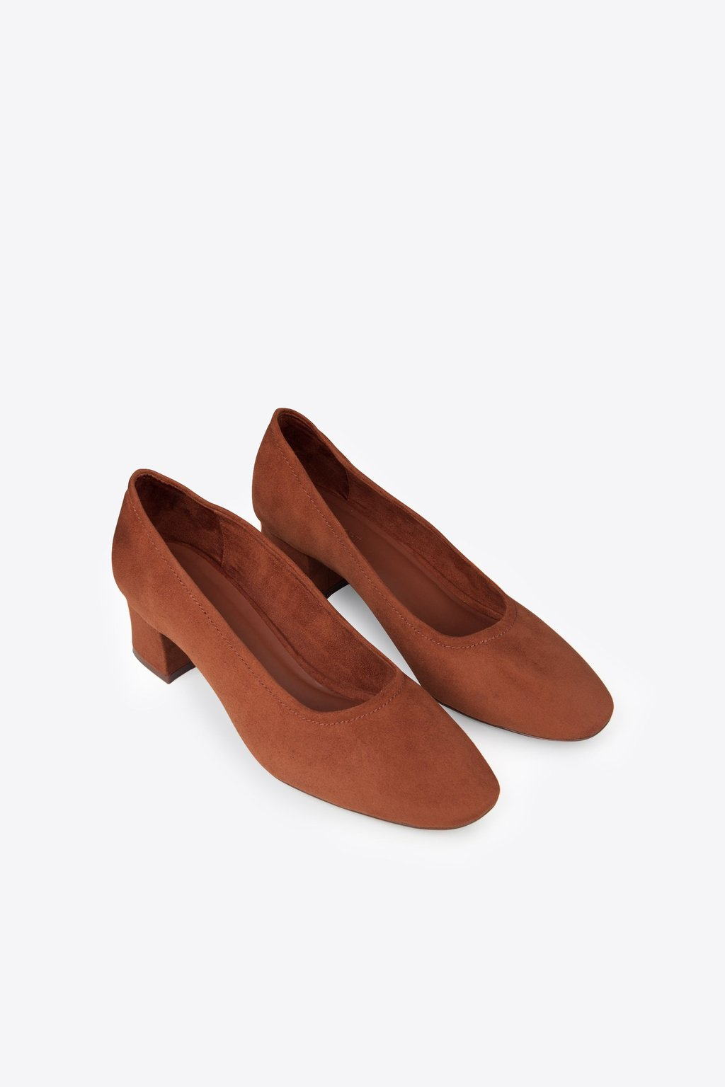 Block Heel 1896 Brown 4