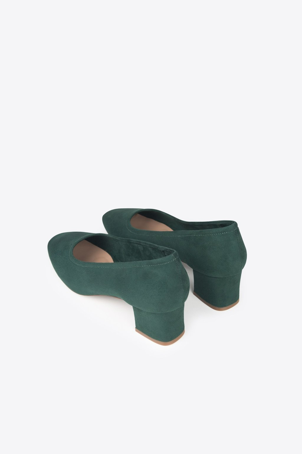 Block Heel 1896 Forest Green 8