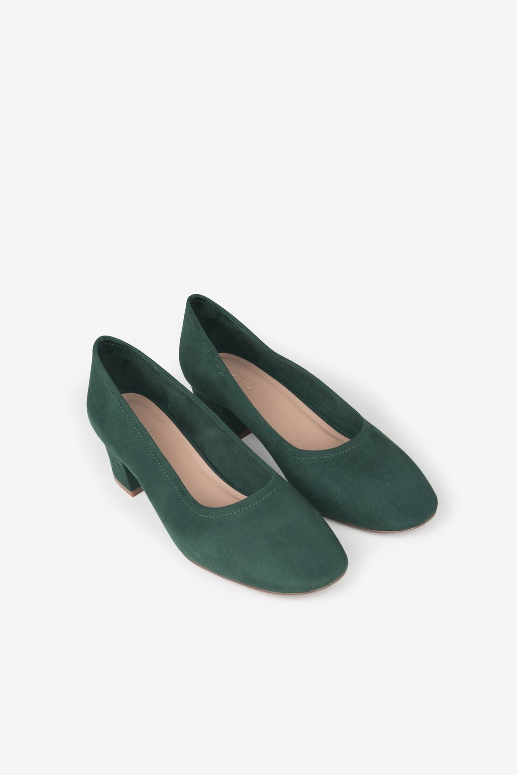 Block Heel 1896 Forest Green 9