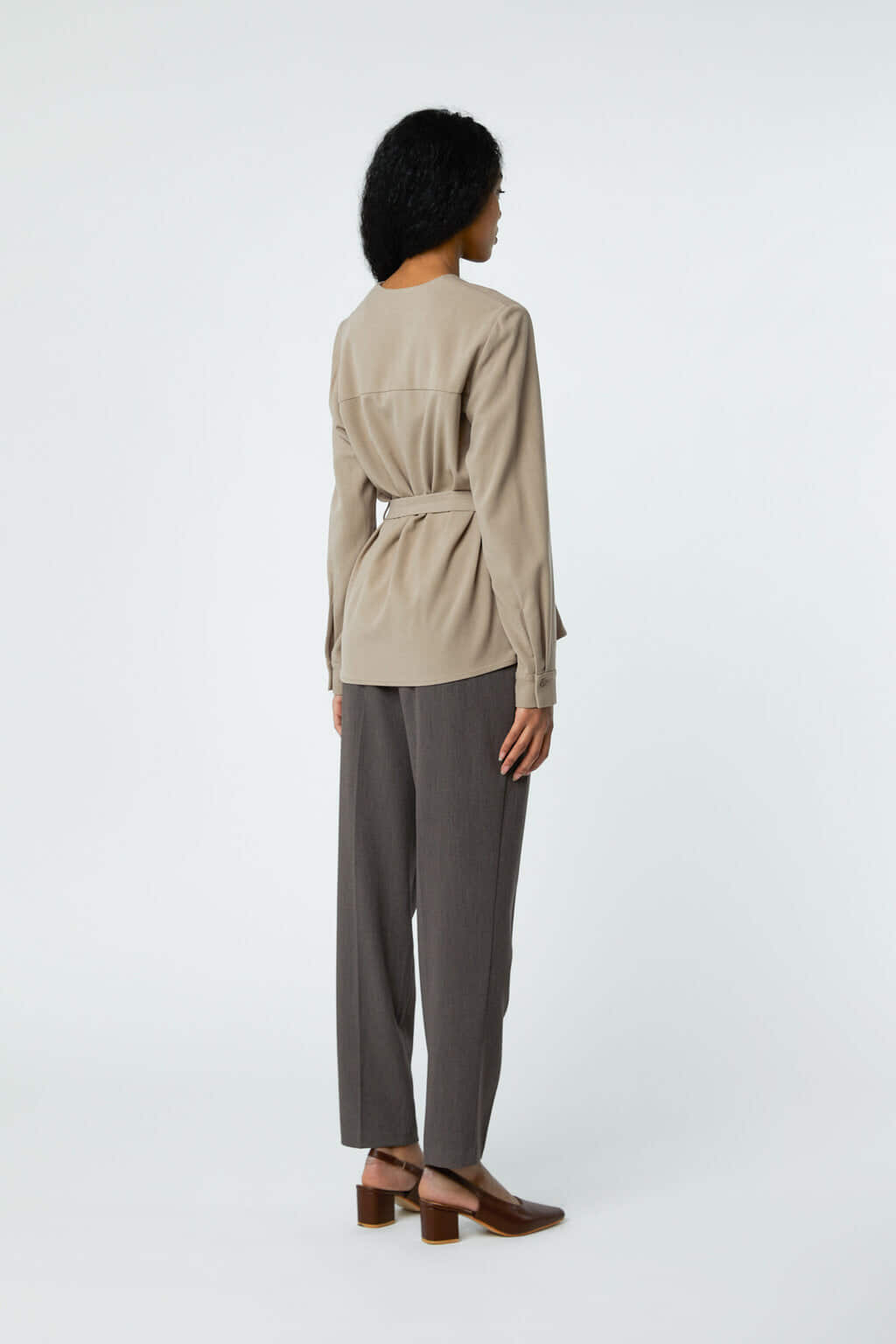 Blouse 2895 Taupe 4