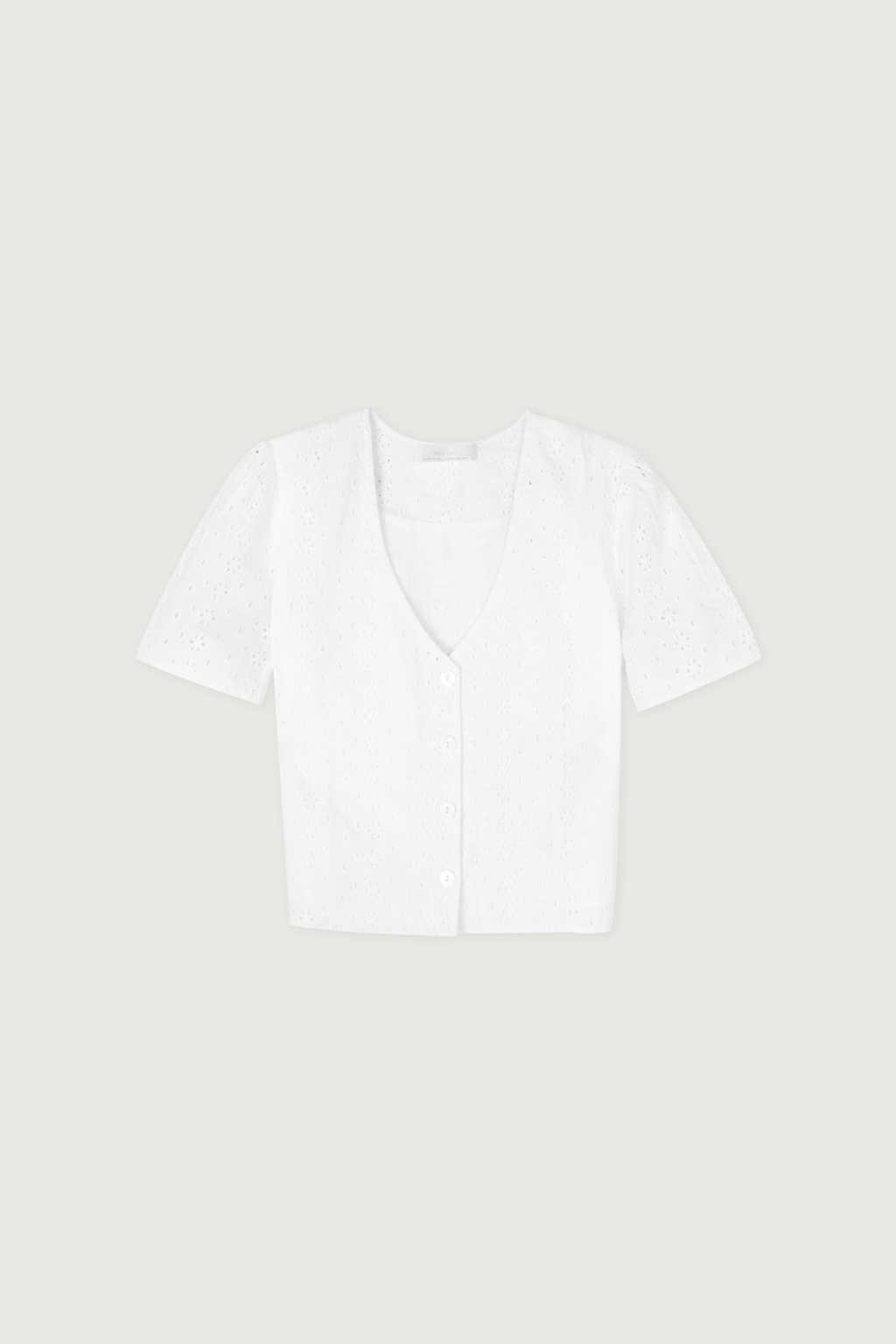 Blouse 3837 White 6