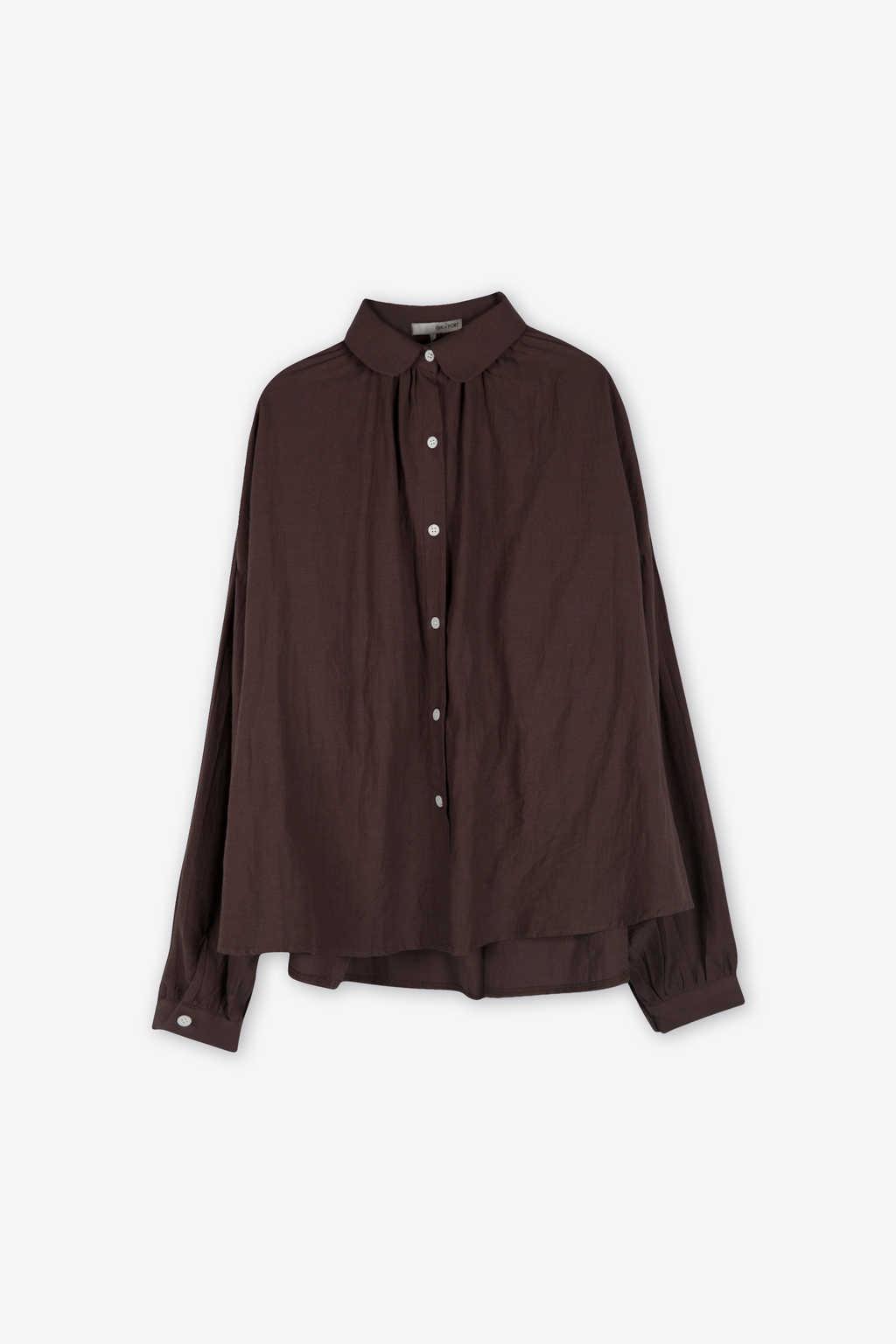 Blouse H385 Brown 5