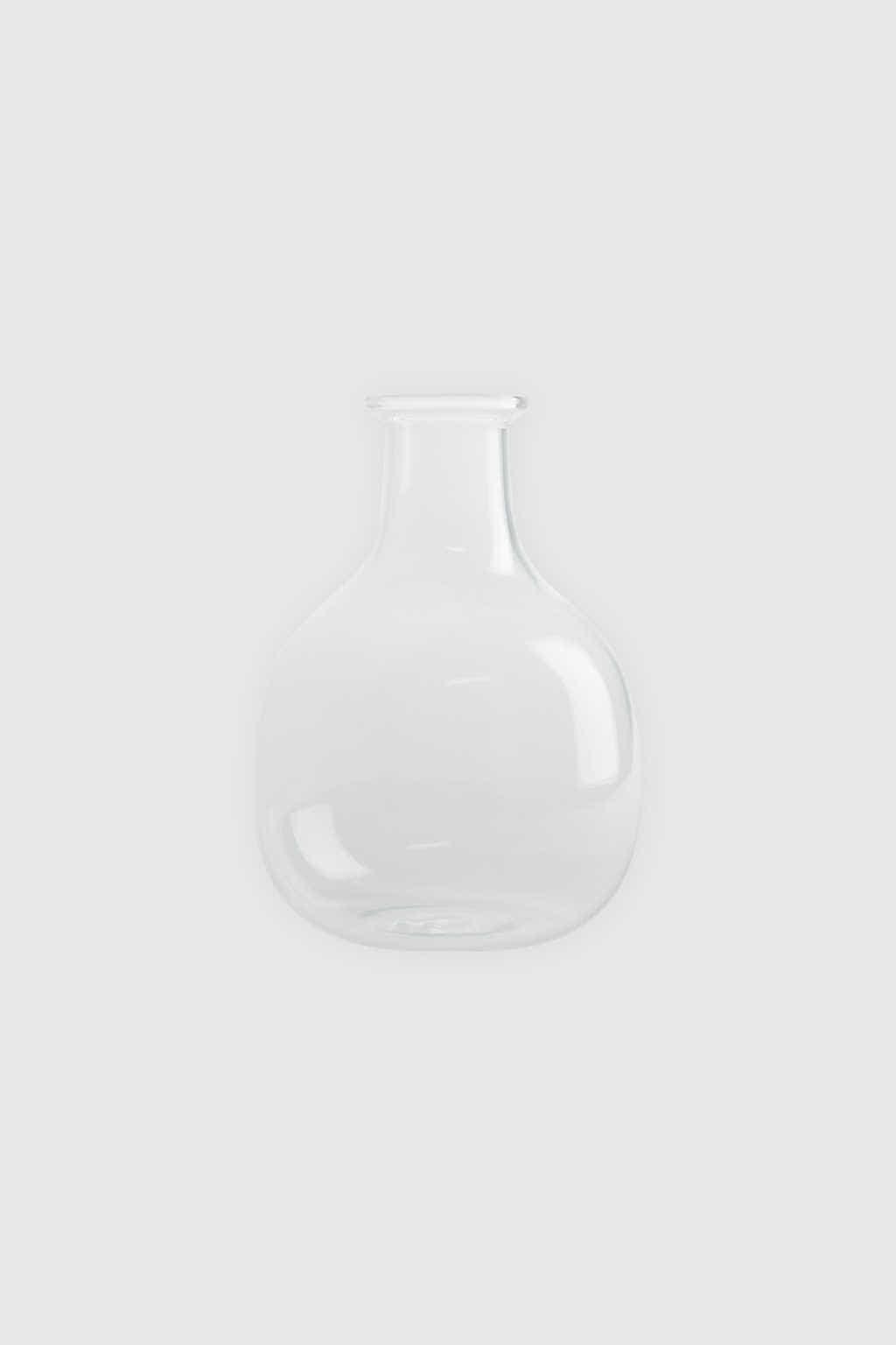 Bottle Vase 3381 Clear 4