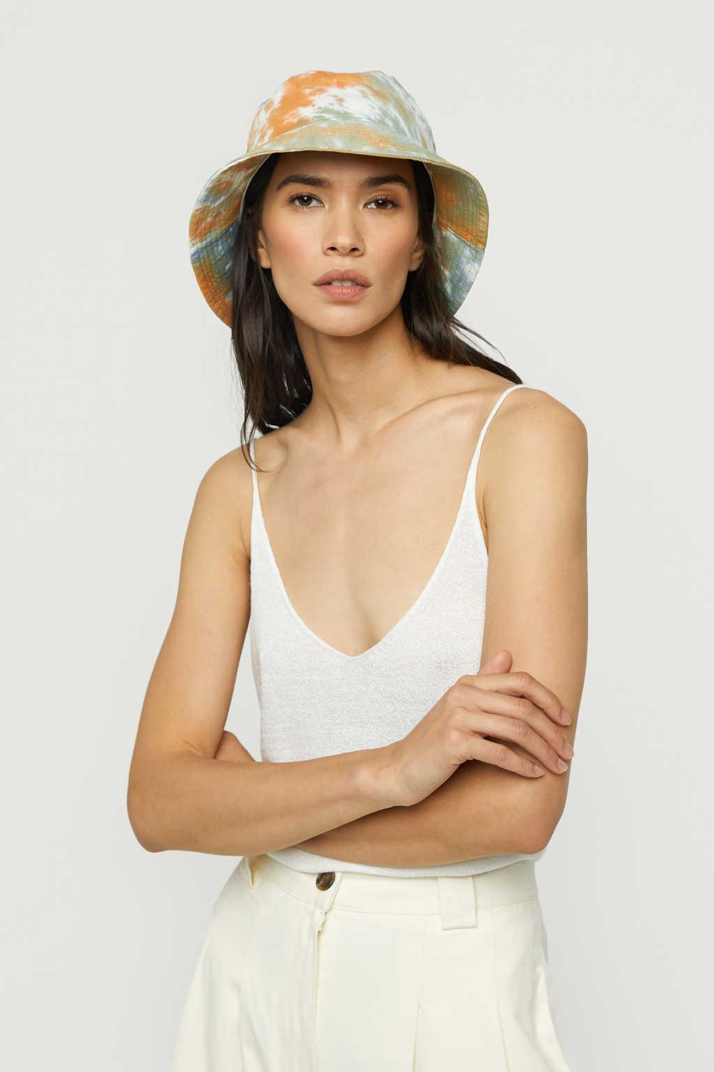 Bucket Hat K001 Orange 1