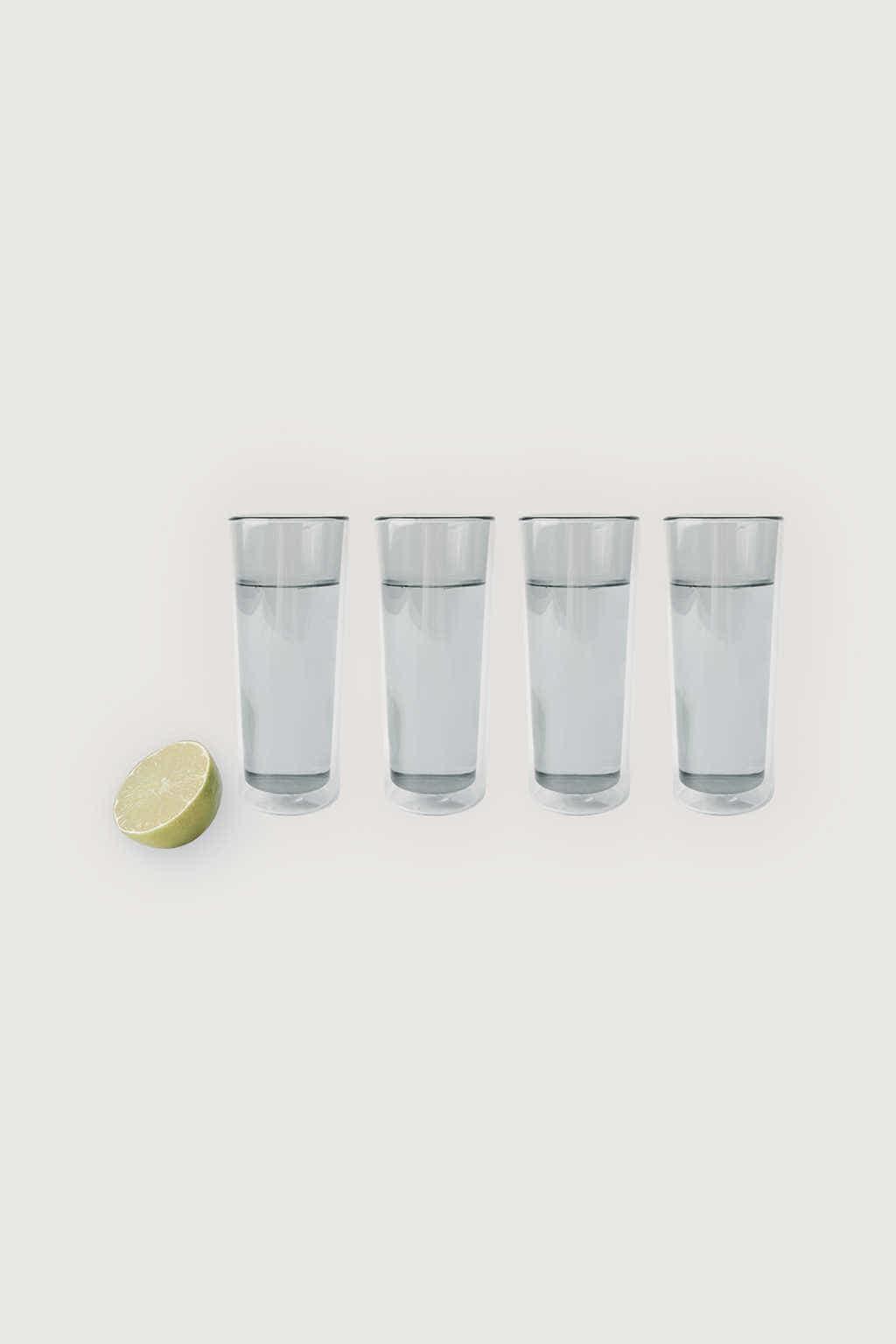Clear Glass Set Gray Default 1