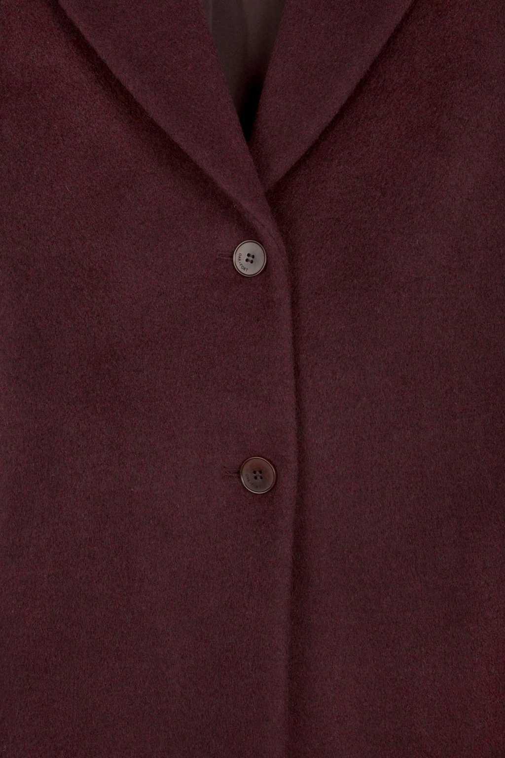 Coat 1527 Burgundy 10