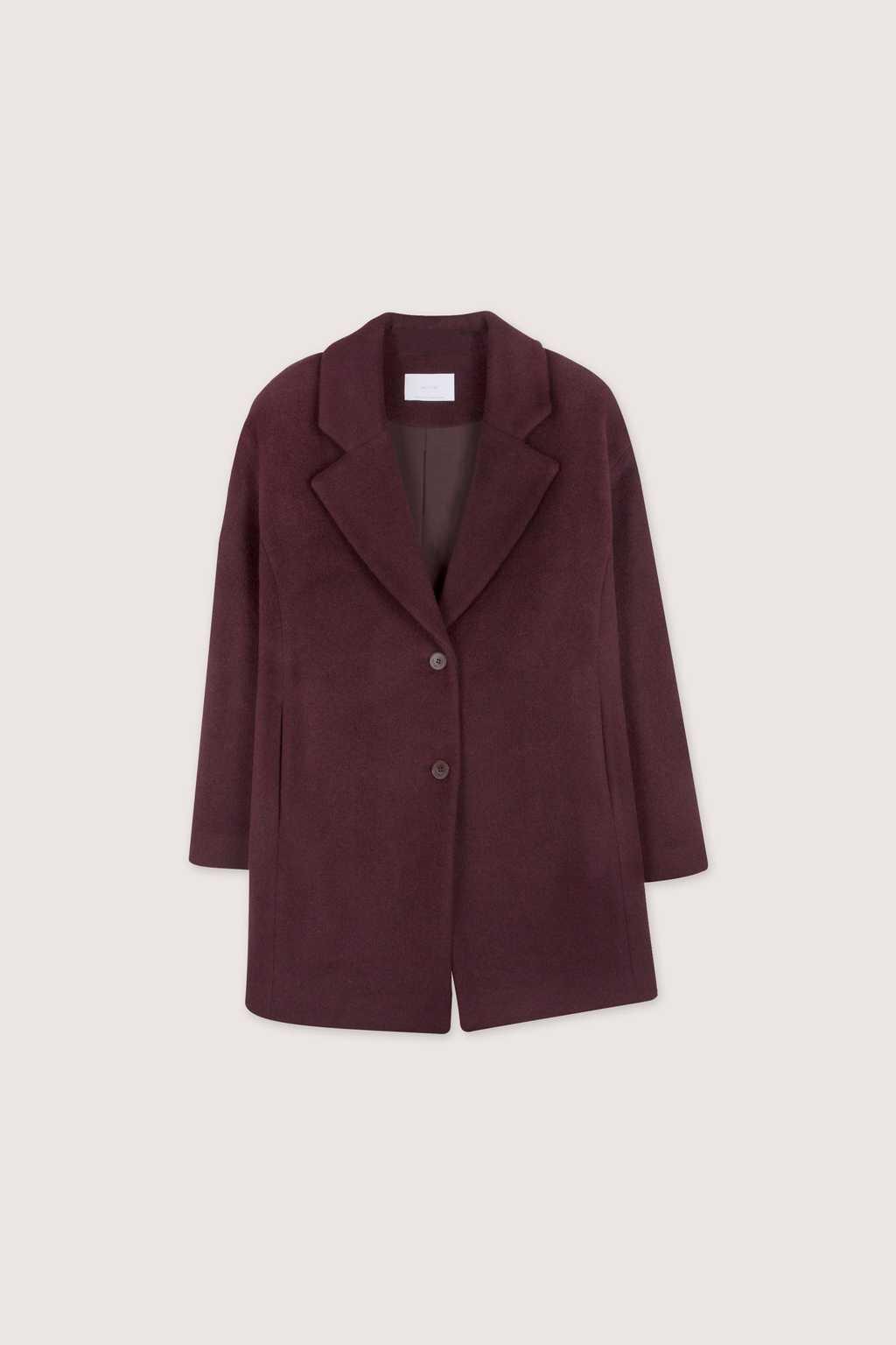 Coat 1527 Burgundy 9