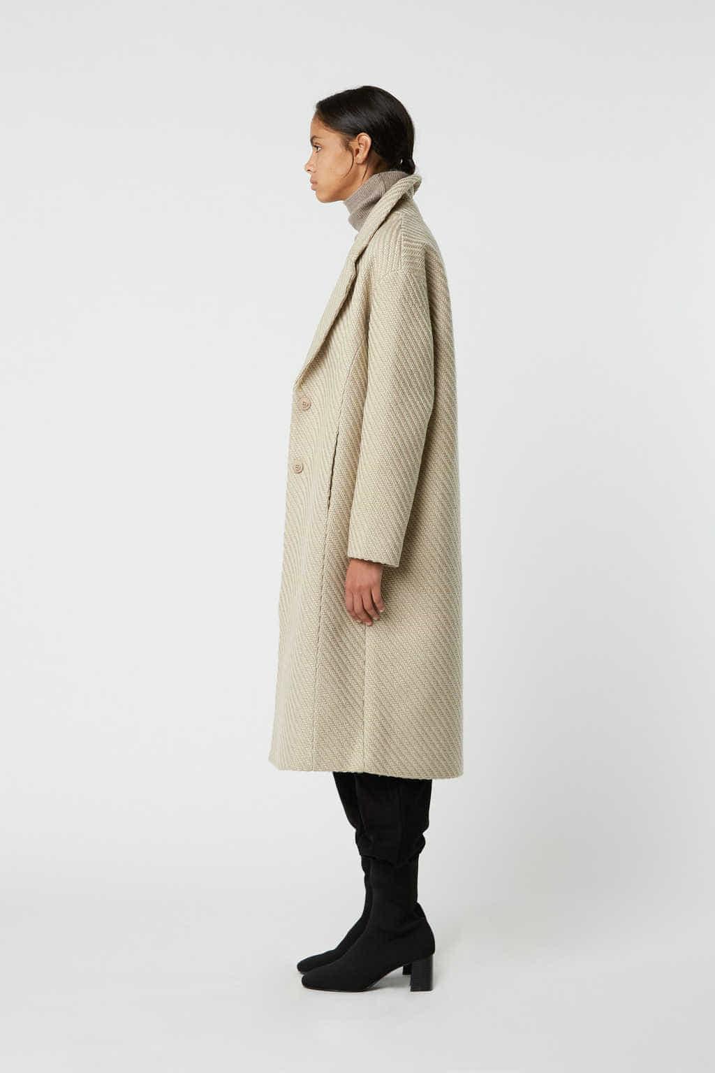 Coat 2850 Beige 2