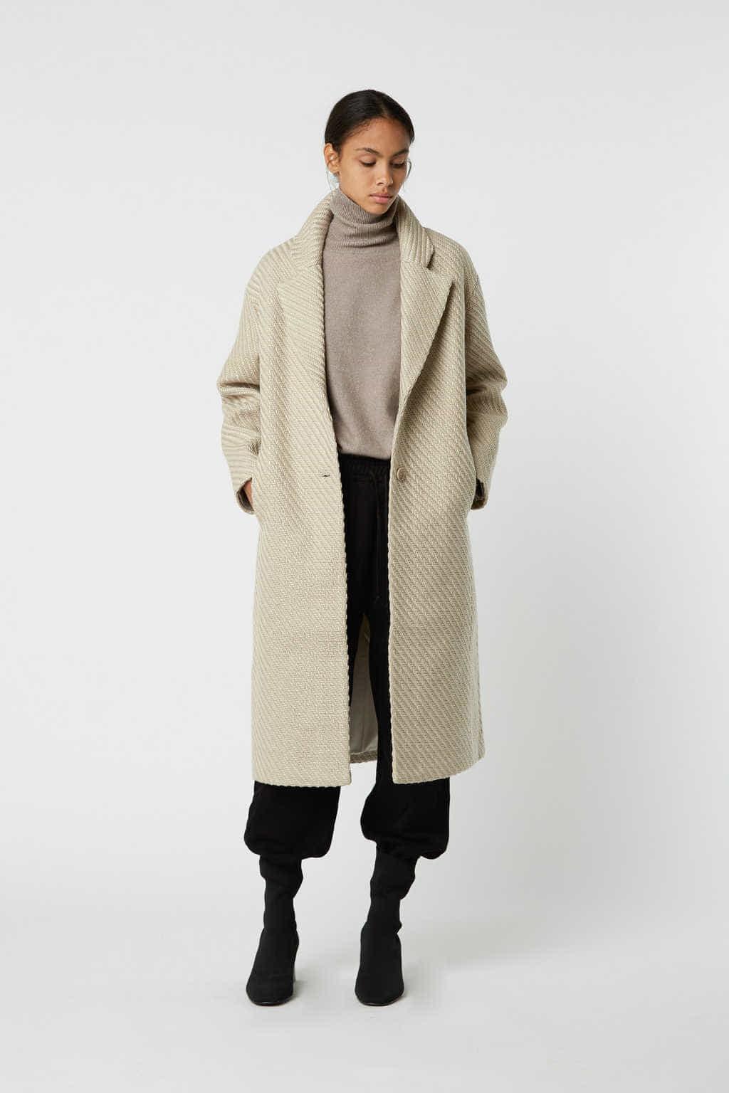 Coat 2850 Beige 3