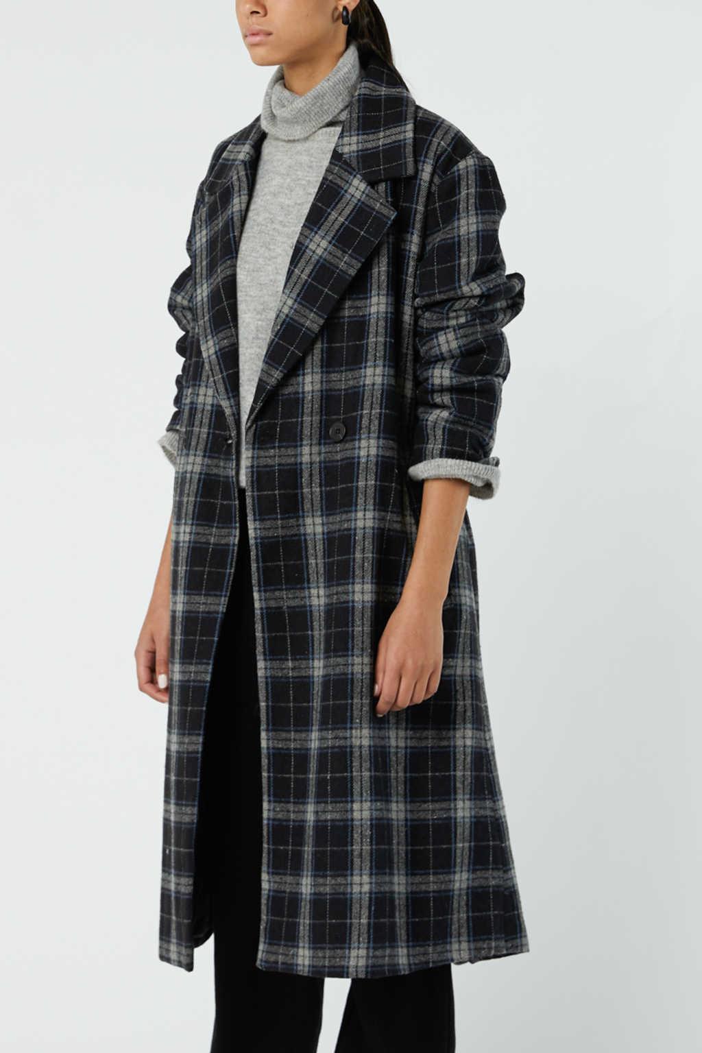 Coat J002 Black 5