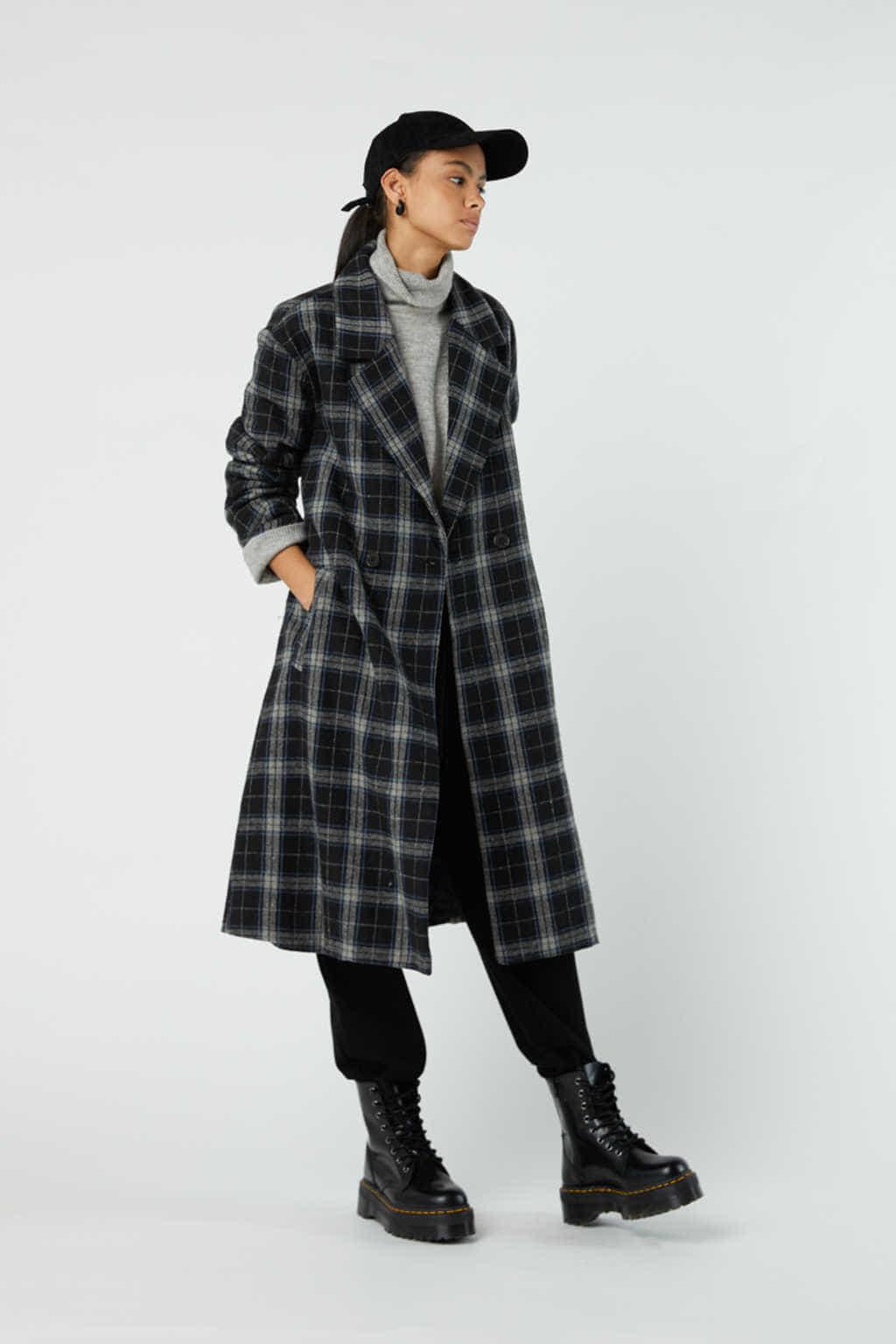 Coat J002 Black 6
