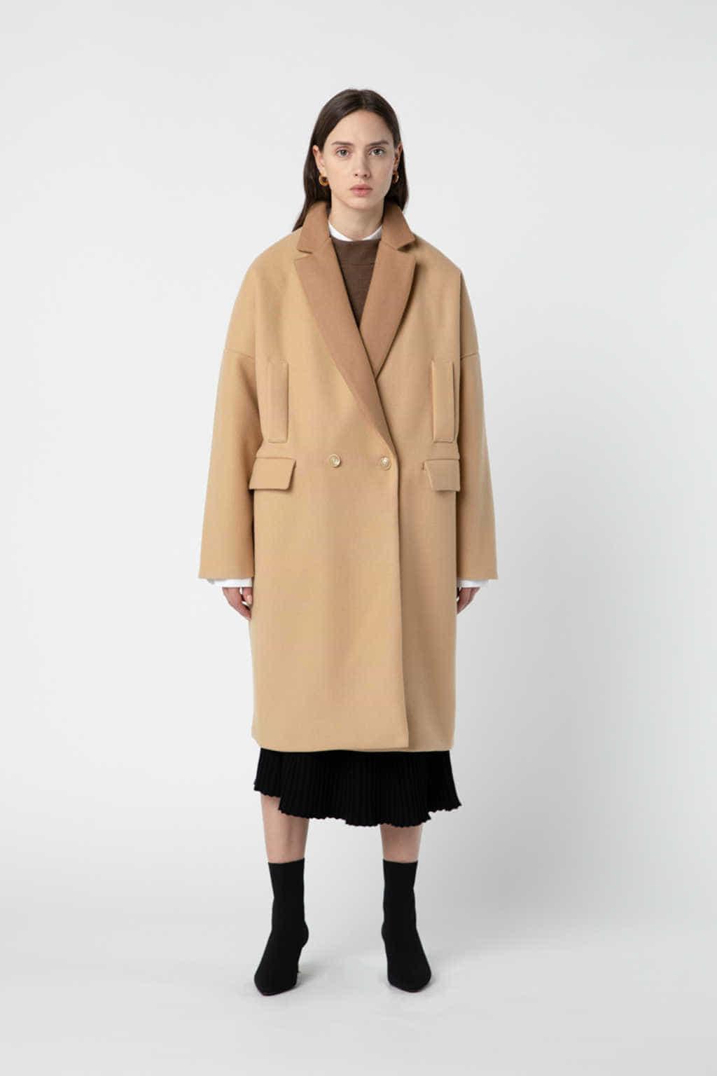 Coat J007 Beige 2