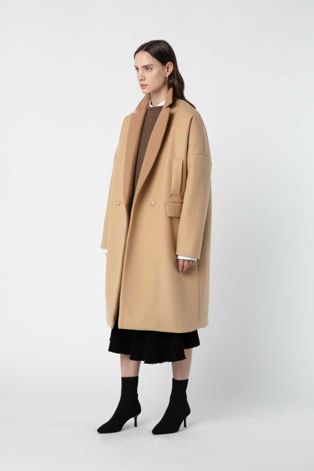 Coat J007 Beige 3
