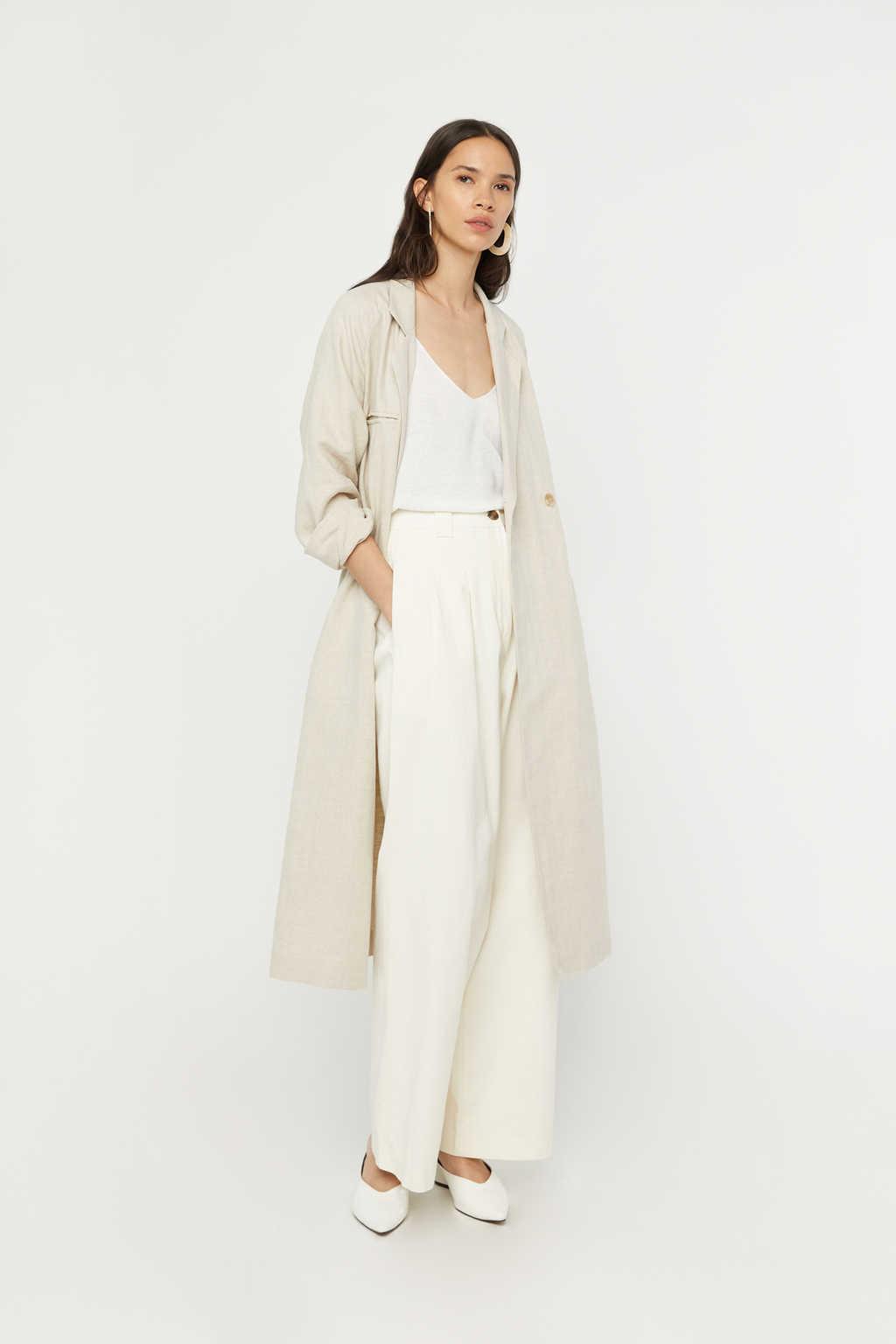 Coat K001 Beige 1