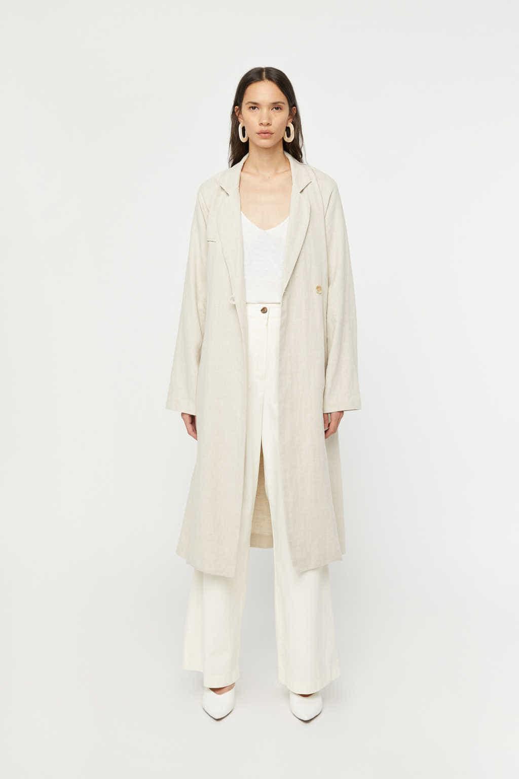 Coat K001 Beige 2