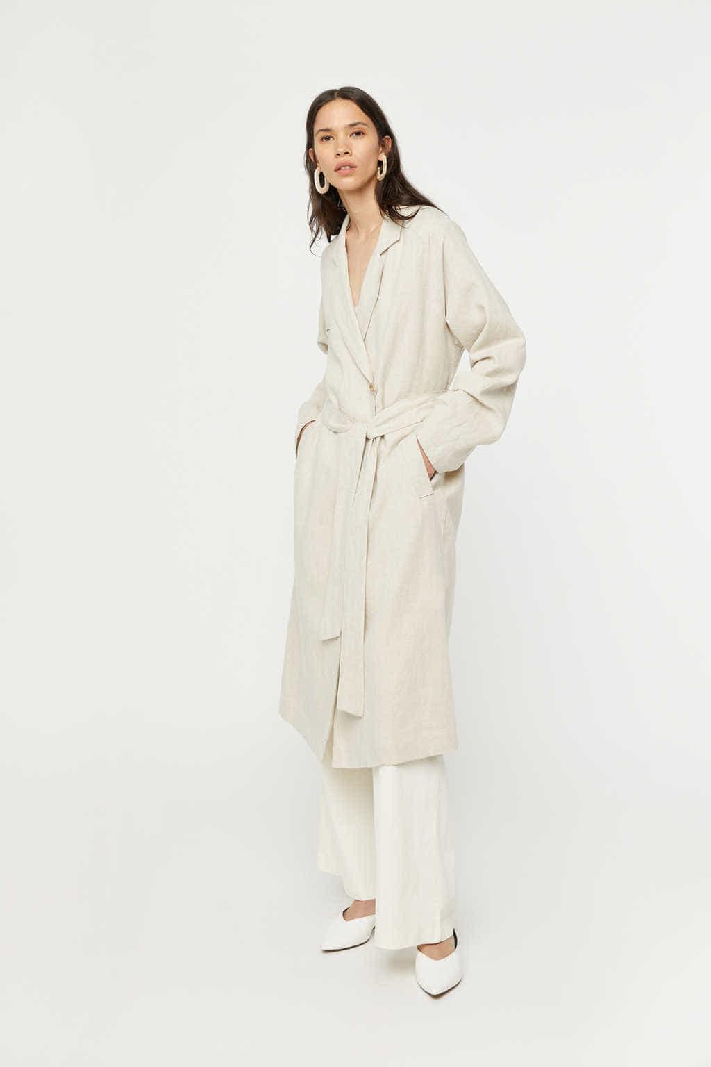 Coat K001 Beige 3