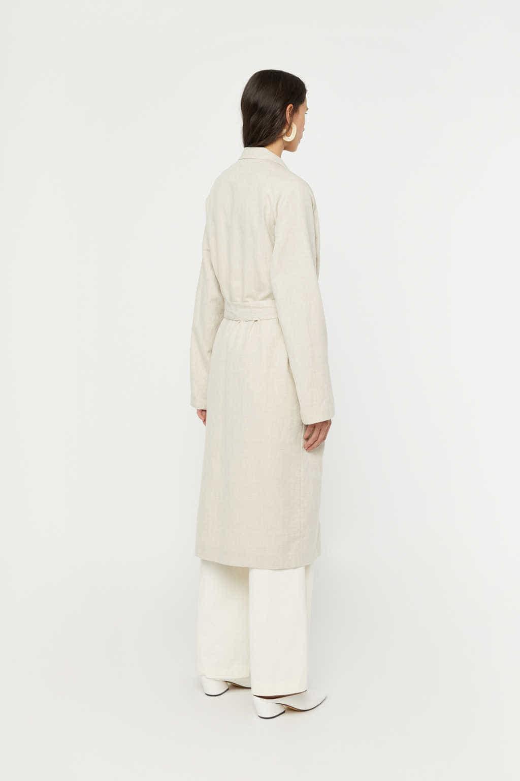Coat K001 Beige 4