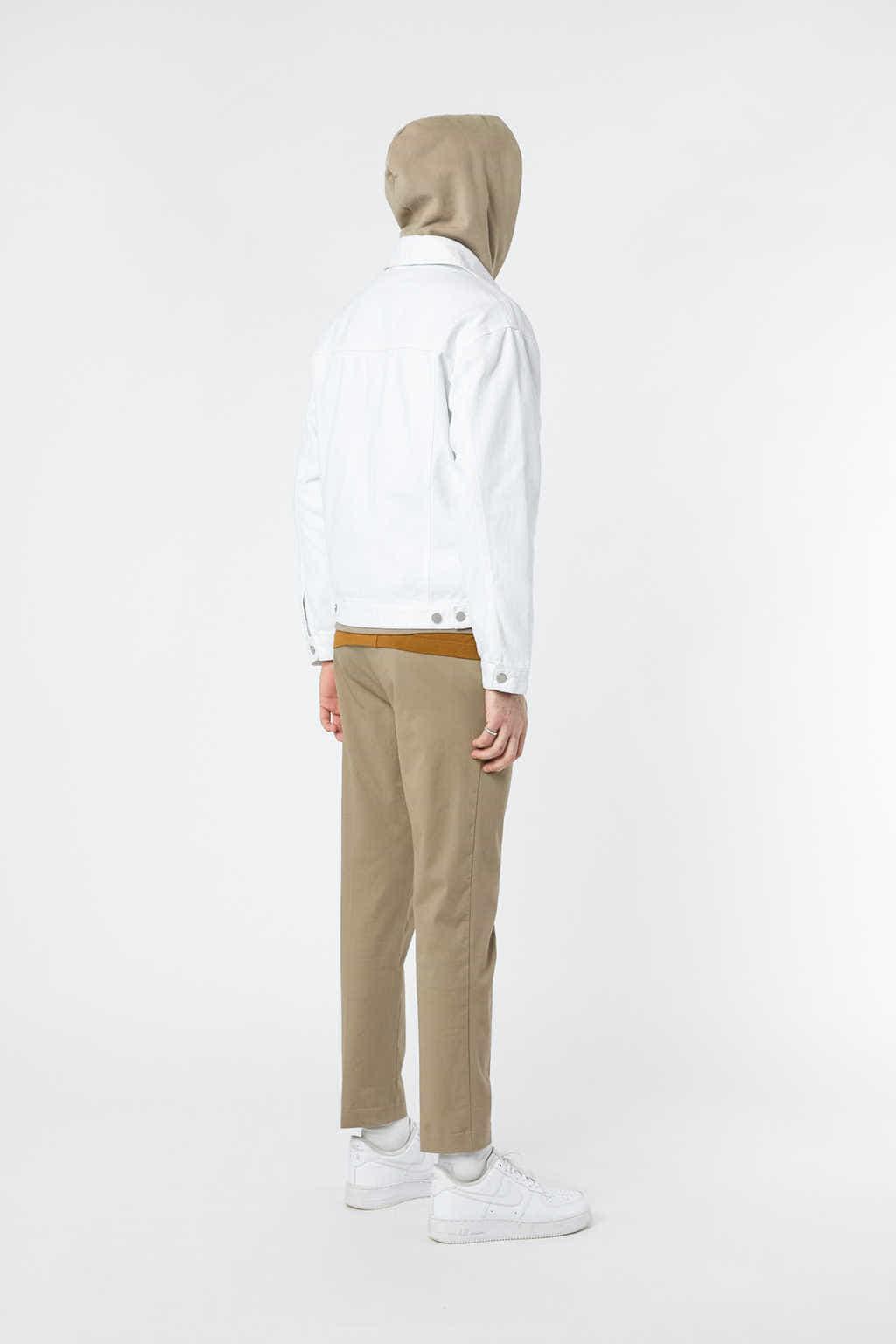 Denim Jacket 3318 White 21