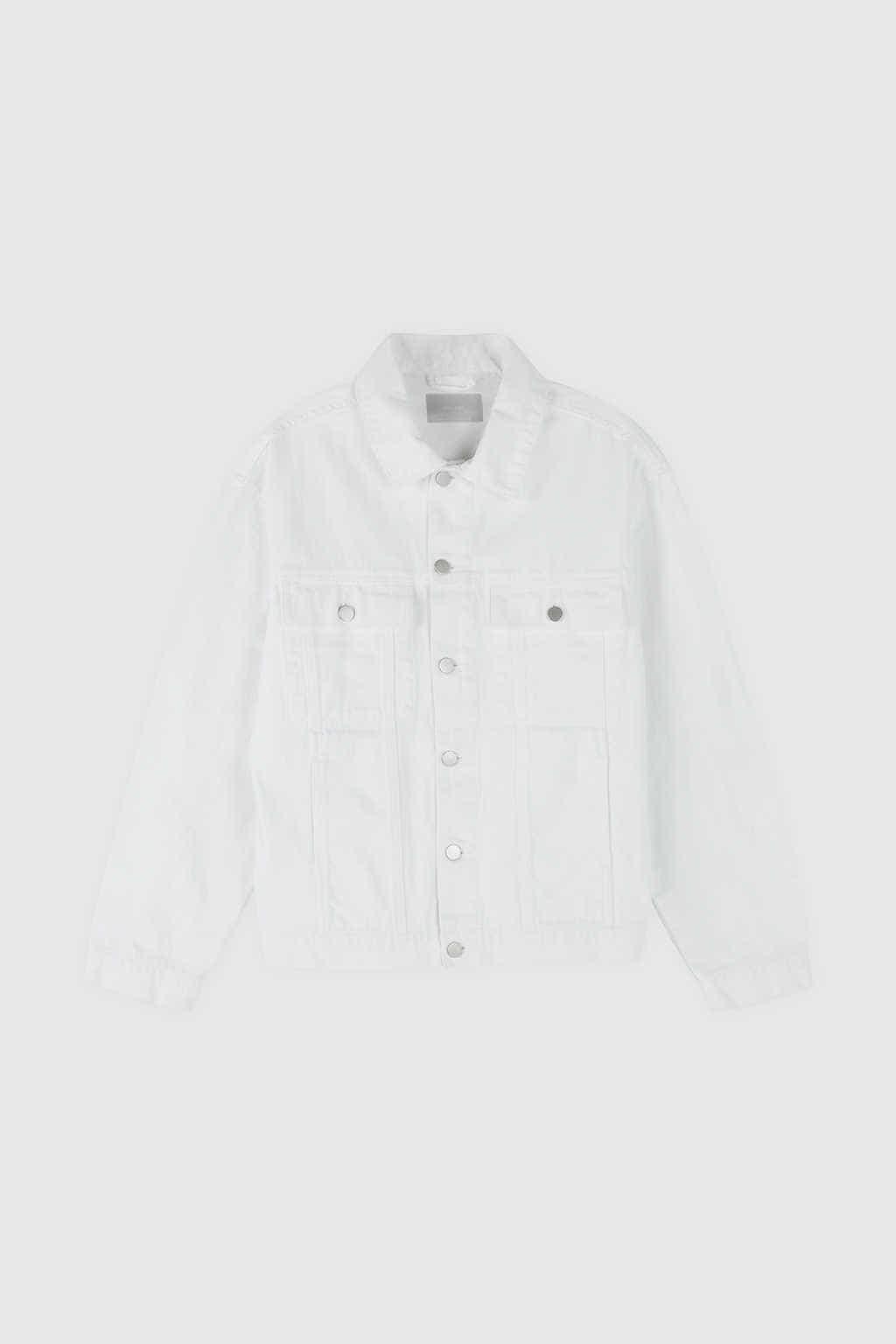 Denim Jacket 3318 White 22
