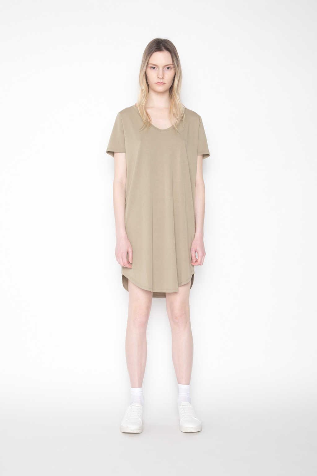 Dress 1202 Olive 1