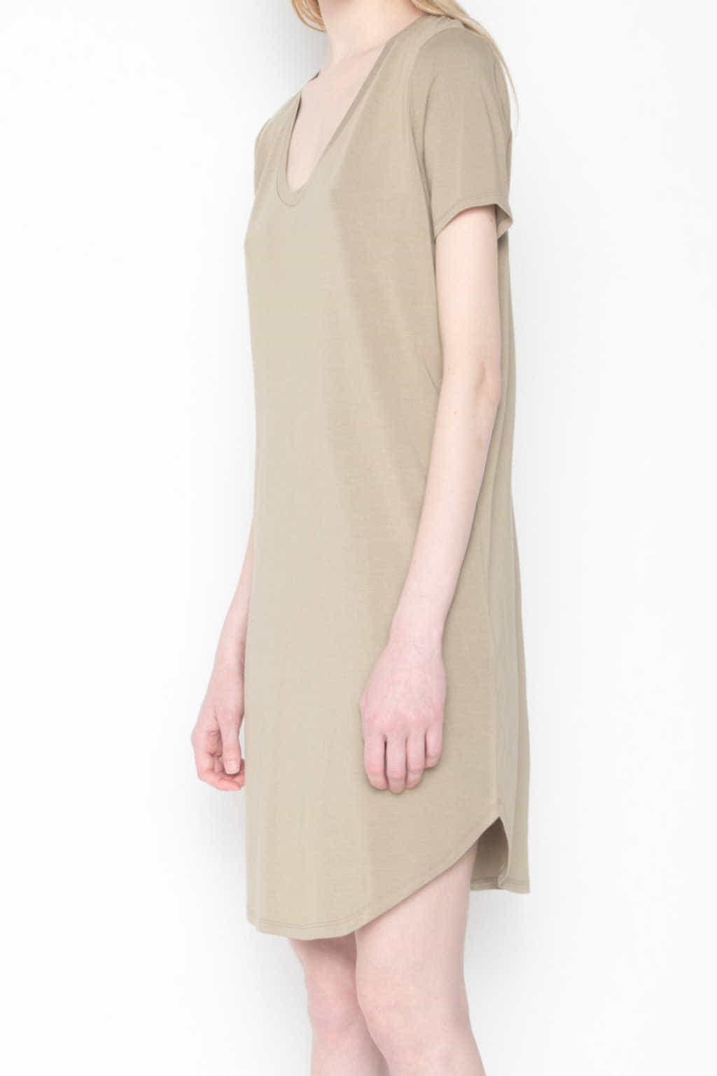Dress 1202 Olive 2