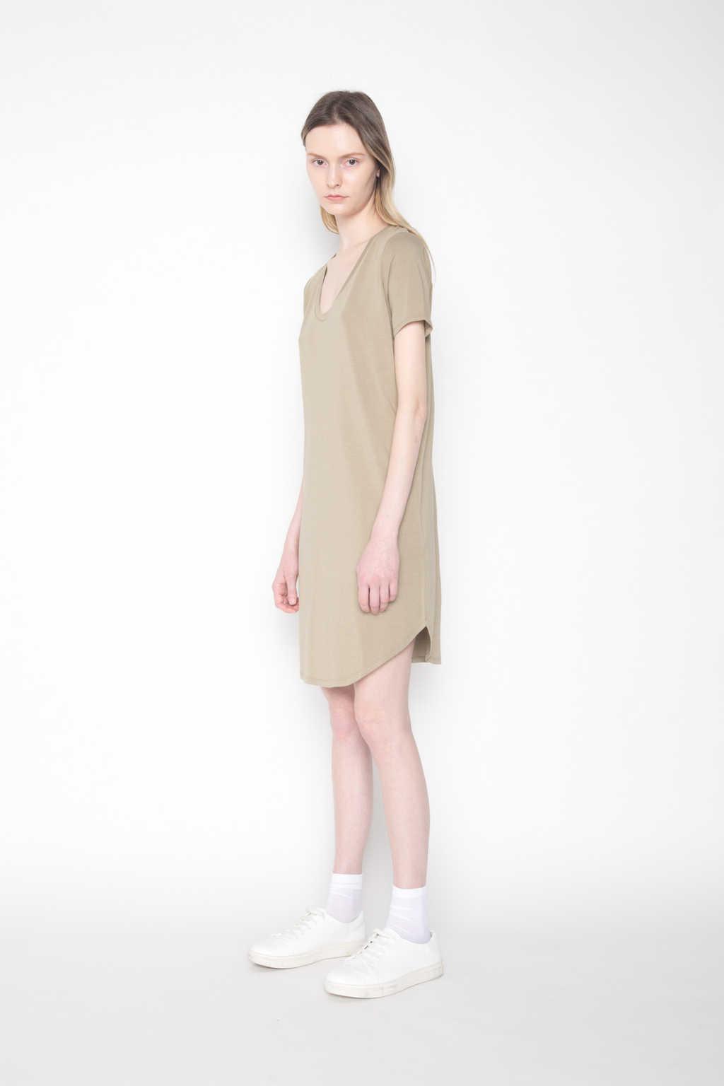 Dress 1202 Olive 3