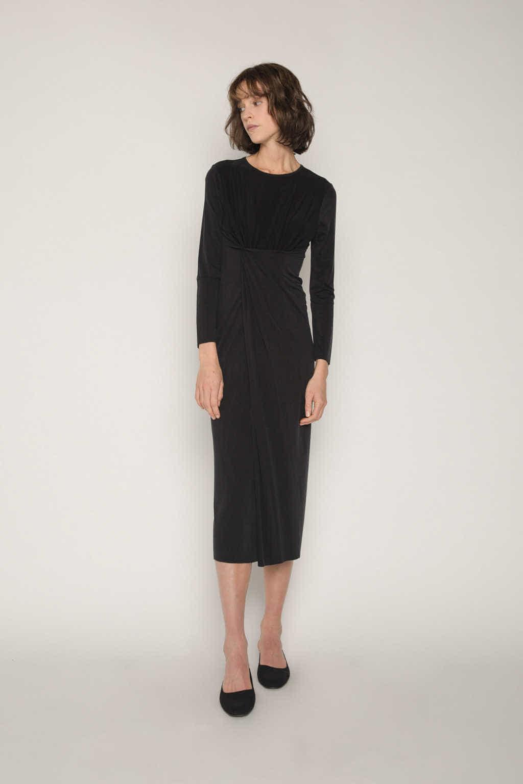 Dress 1673 Black 5