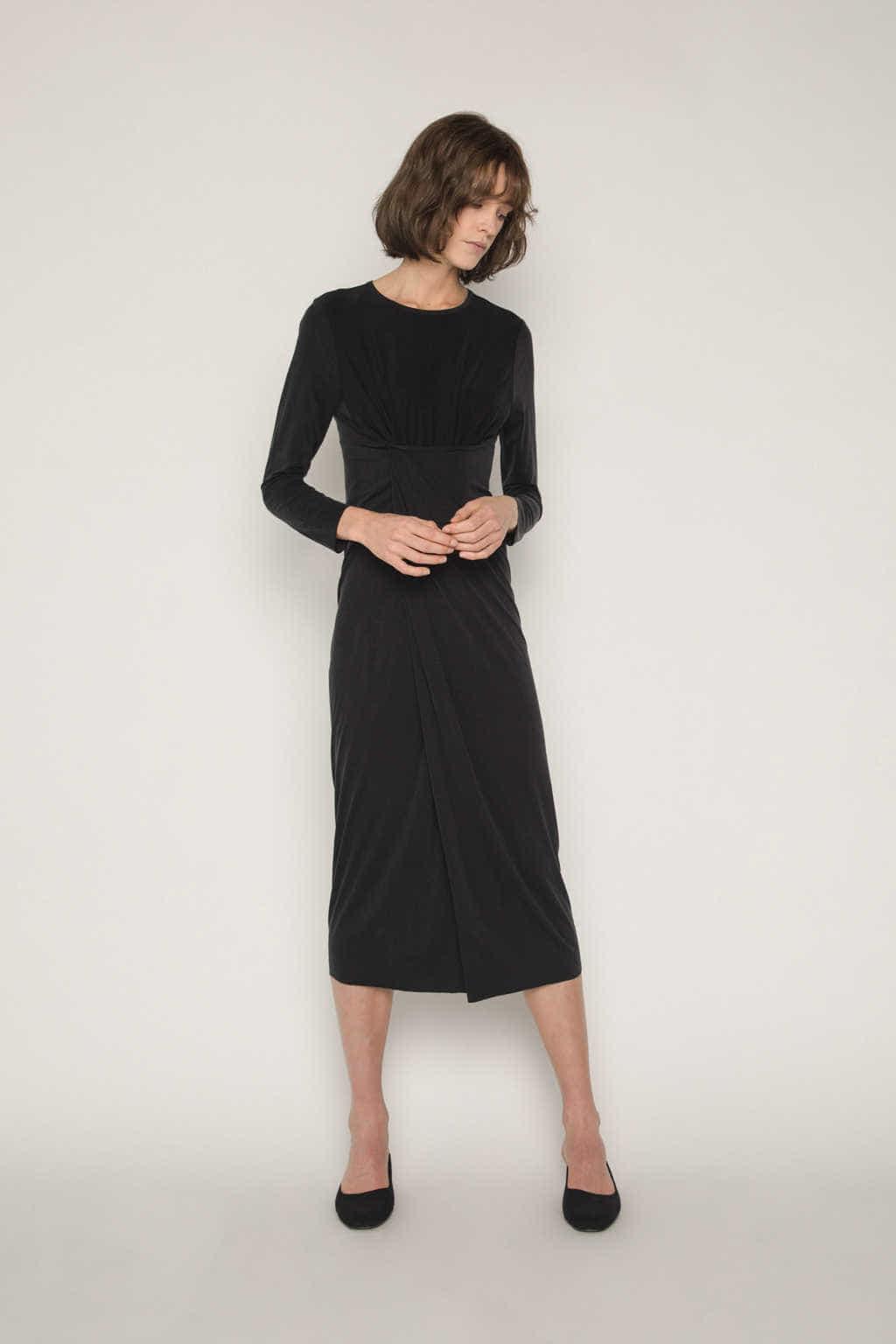 Dress 1673 Black 7