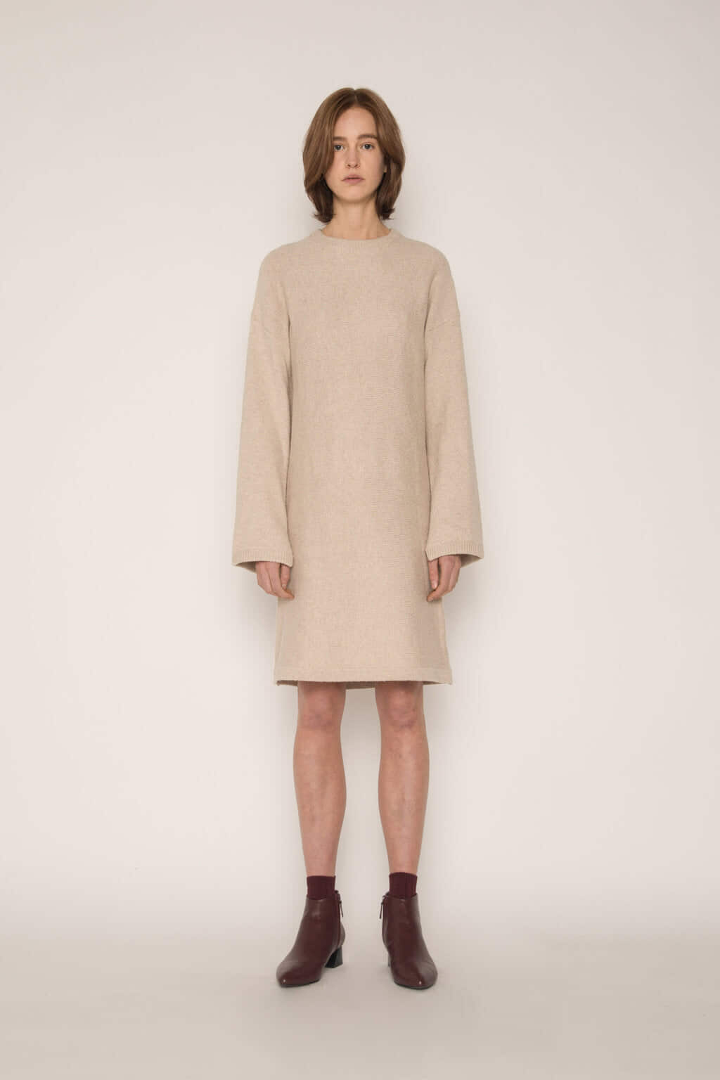 Dress 1817 Oatmeal 2