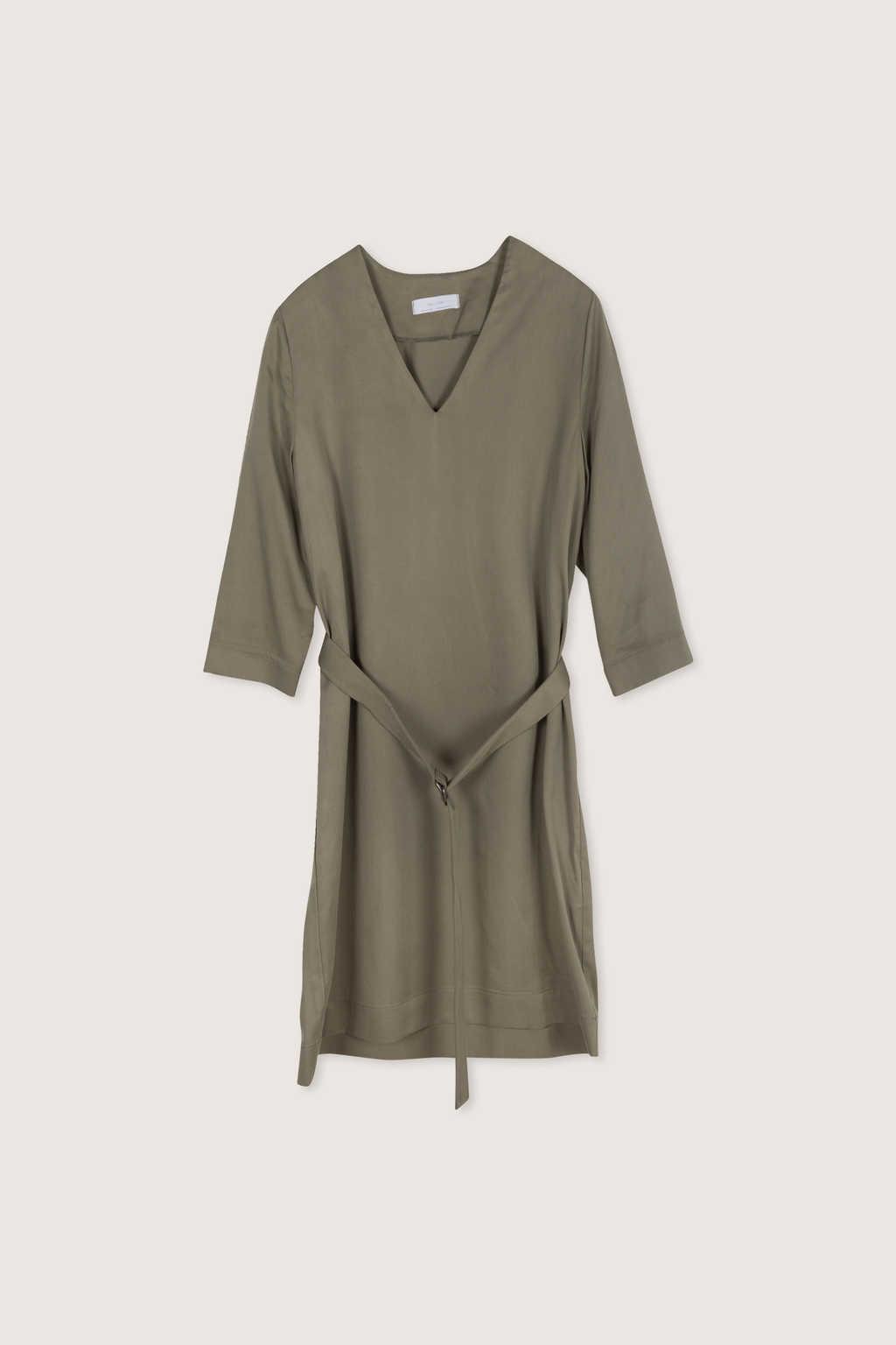 Dress 2083 Olive 7