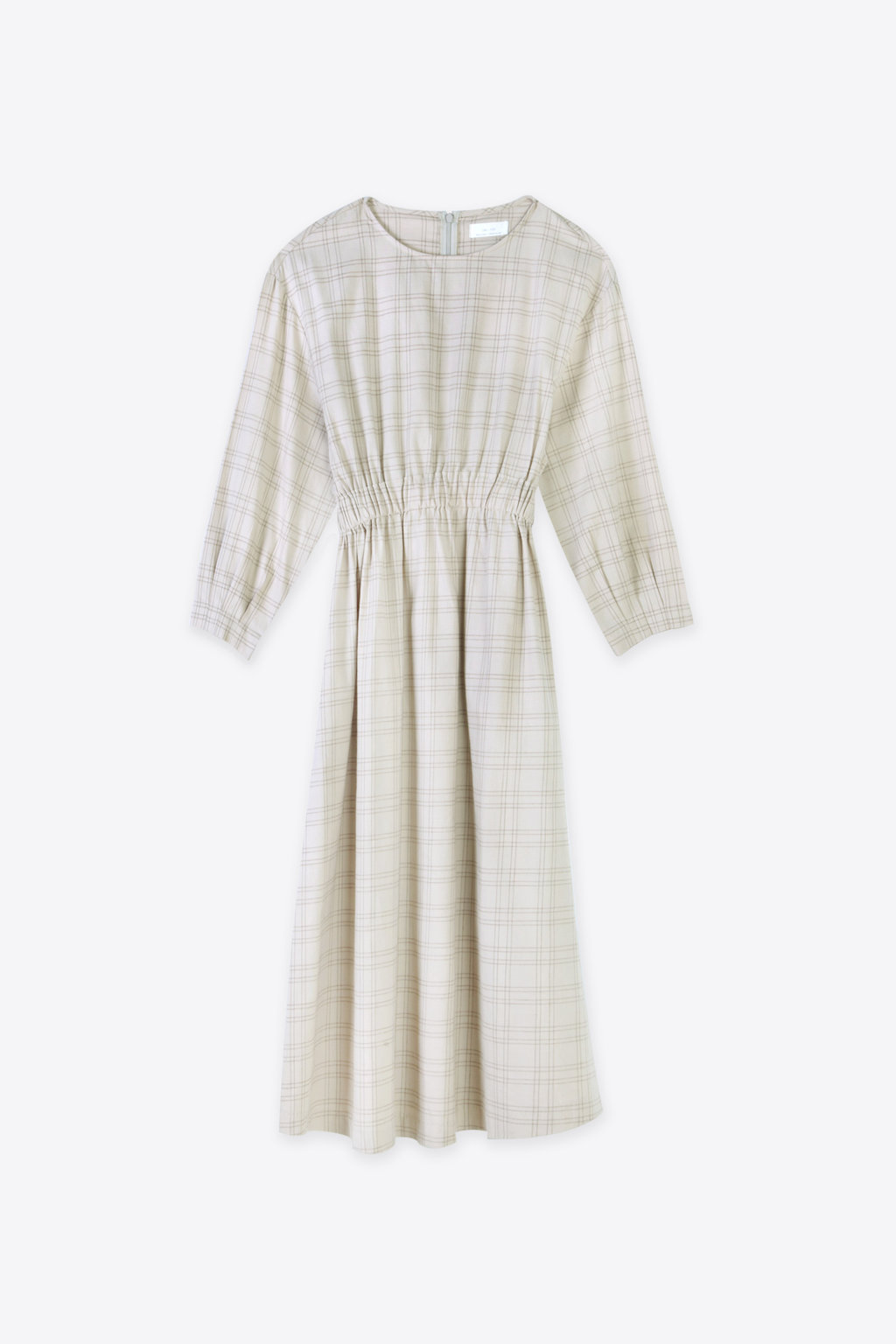 Dress 2507 Oatmeal Plaid 4