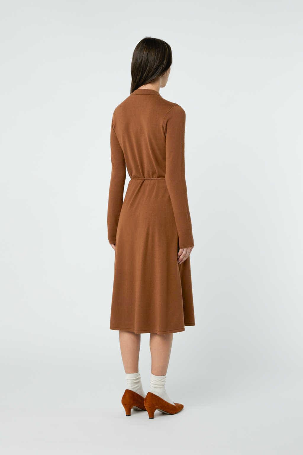 Dress 2868 Brown 12