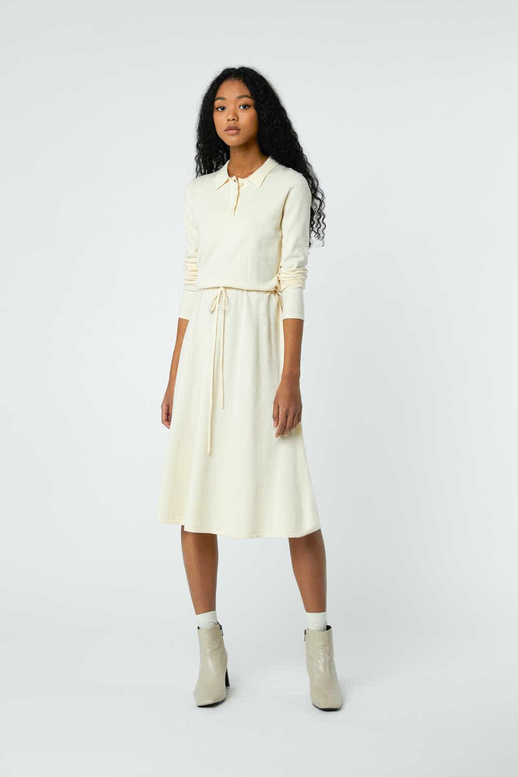 Dress 2868 Cream 1