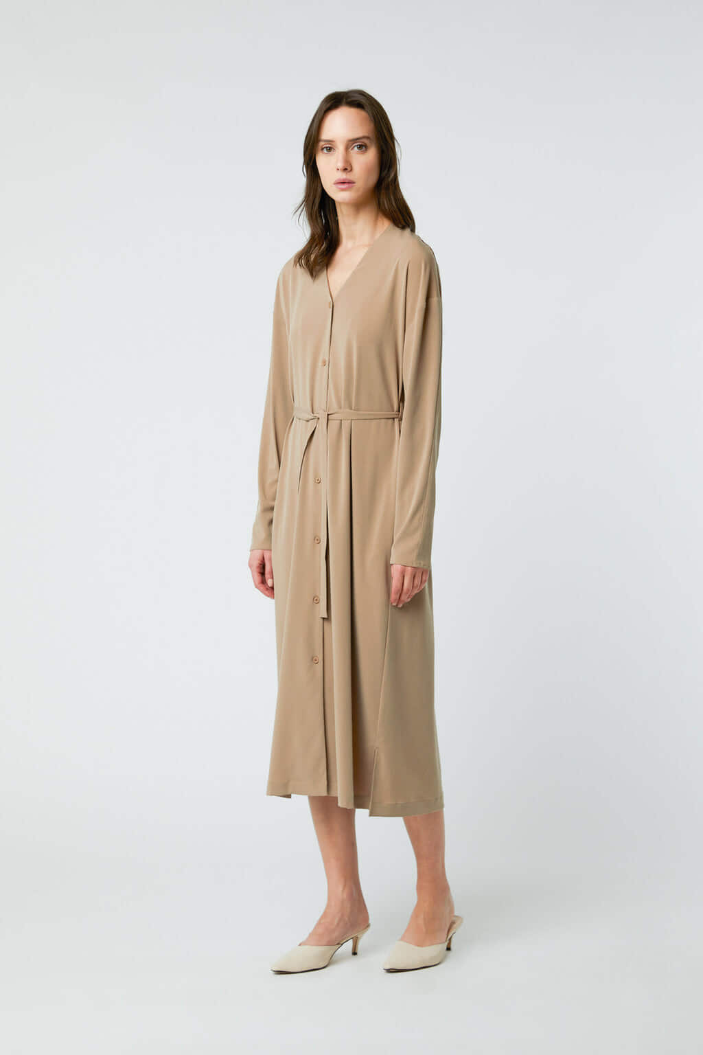 Dress 2958 Taupe 3