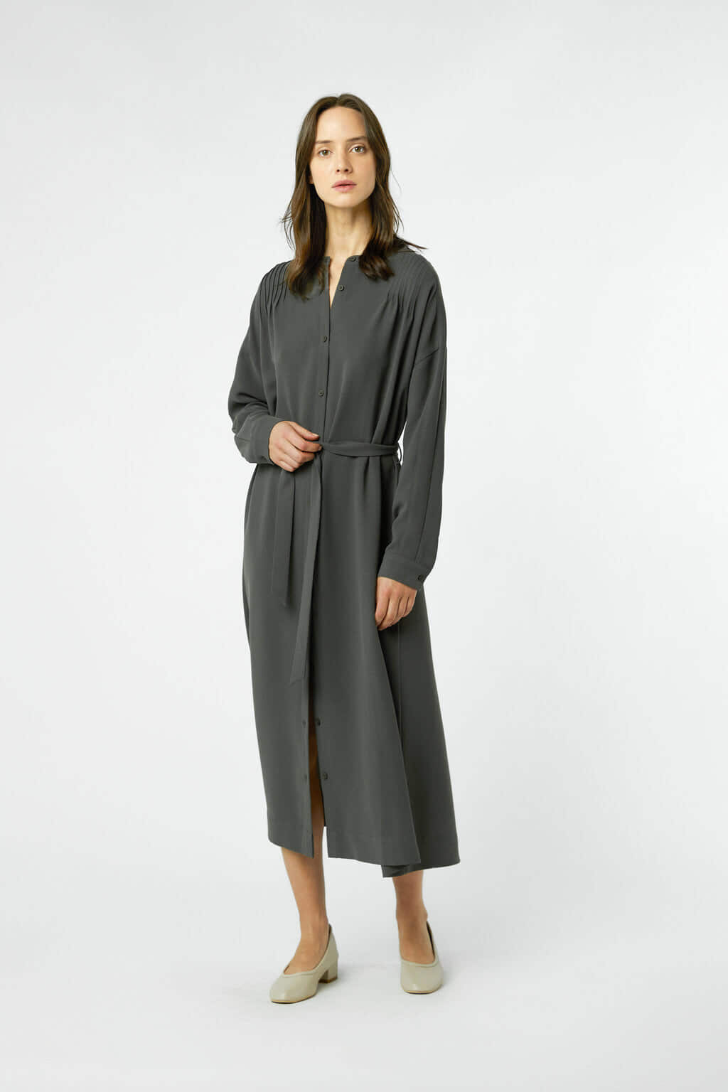 Dress 3054 Sage 10