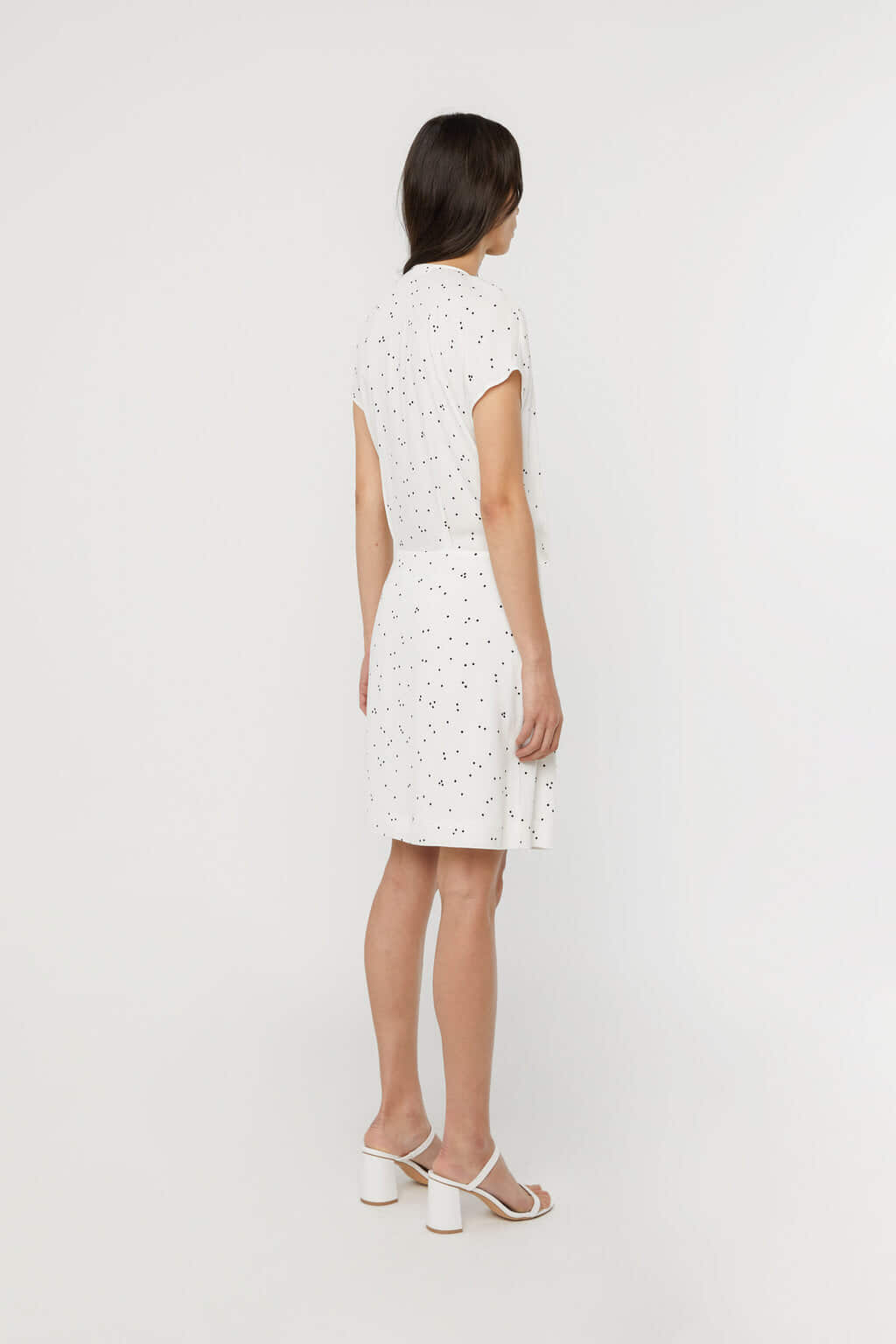 Dress 3208 Off White Print 4