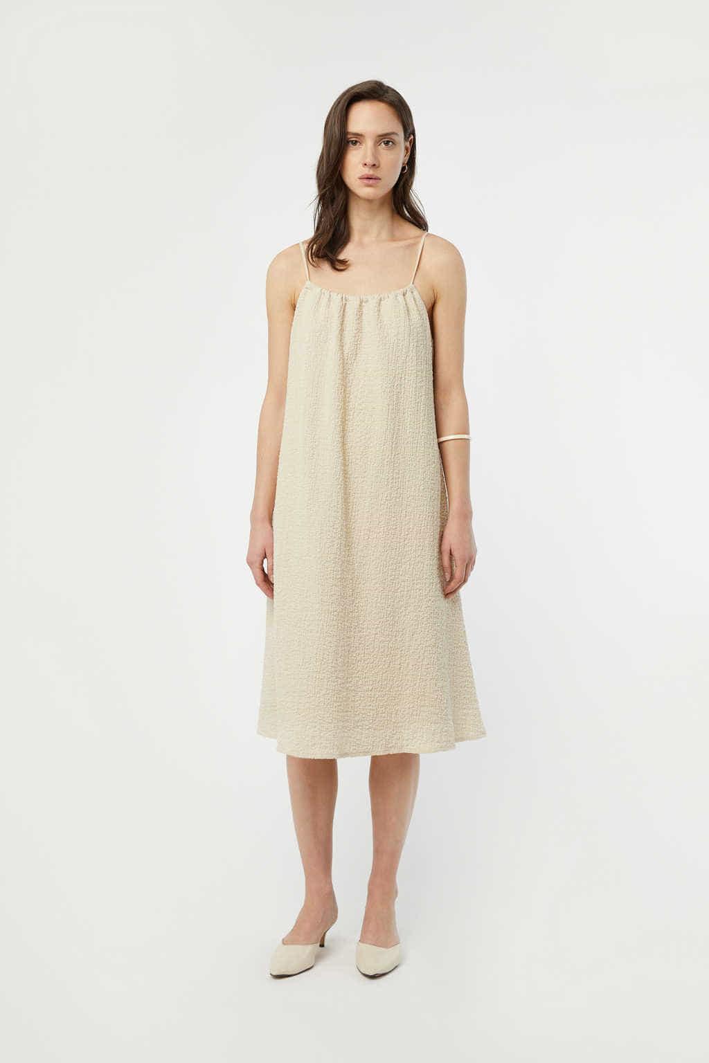 Dress 3215 Beige 2