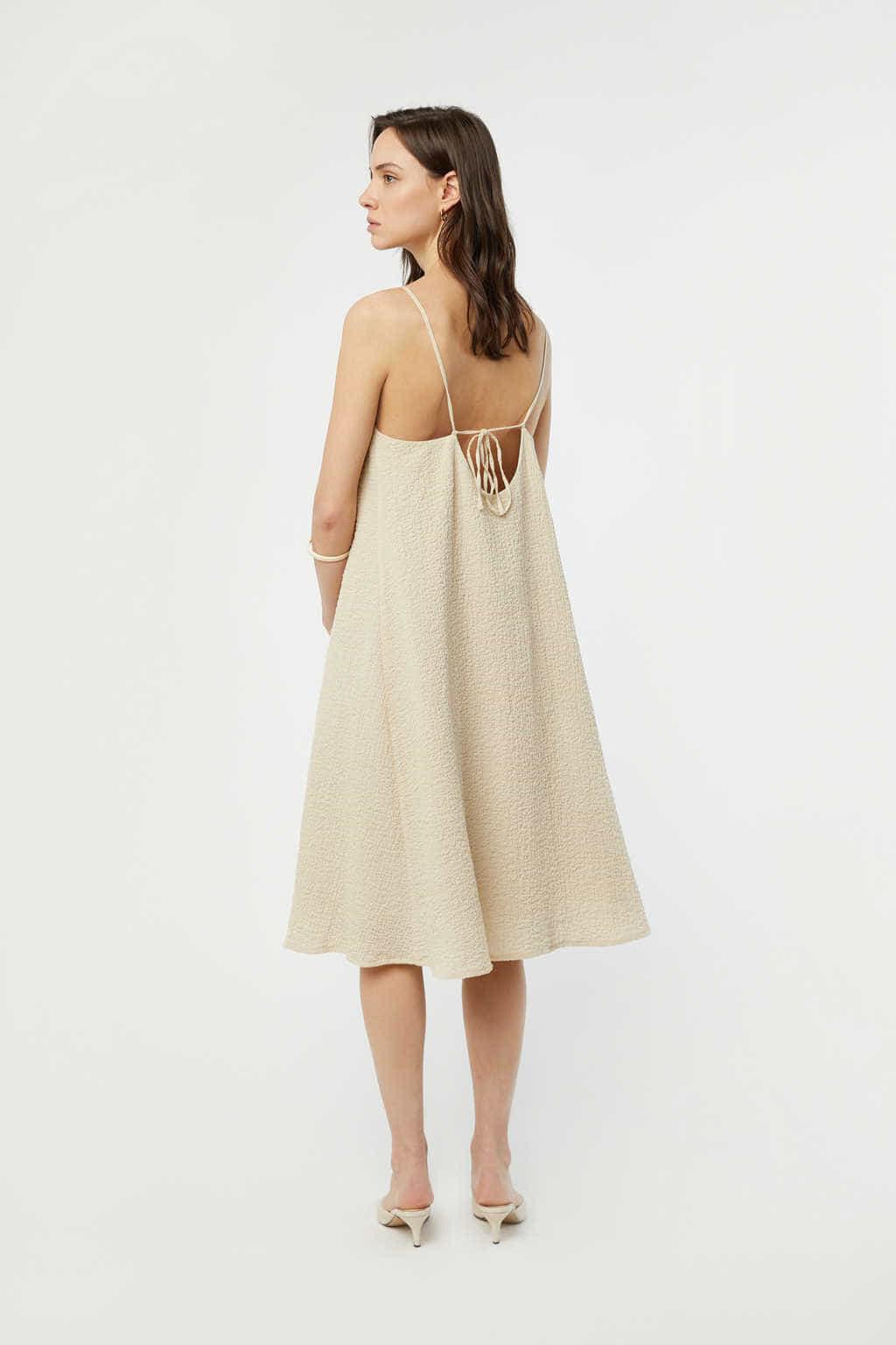 Dress 3215 Beige 3