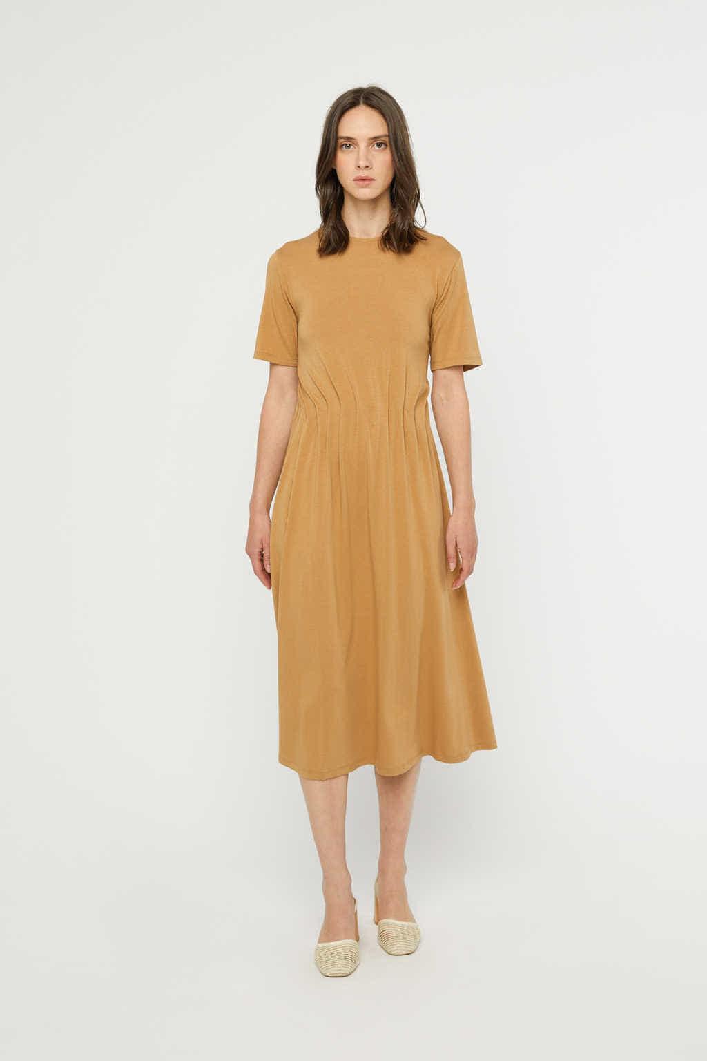 Dress 3262 Camel 3