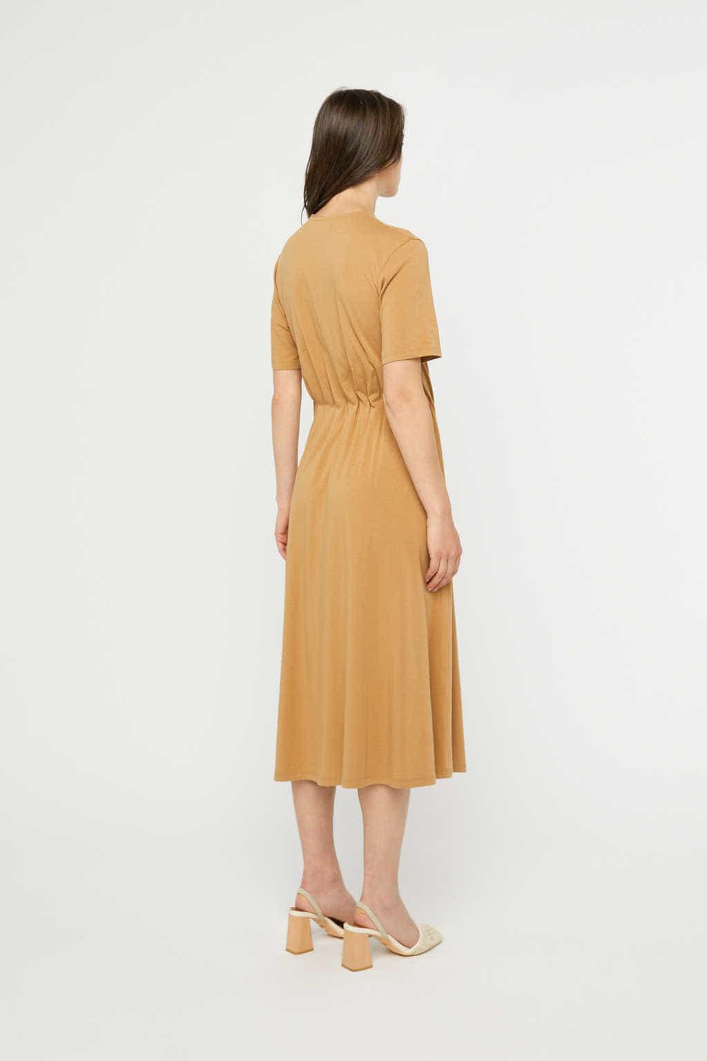 Dress 3262 Camel 4