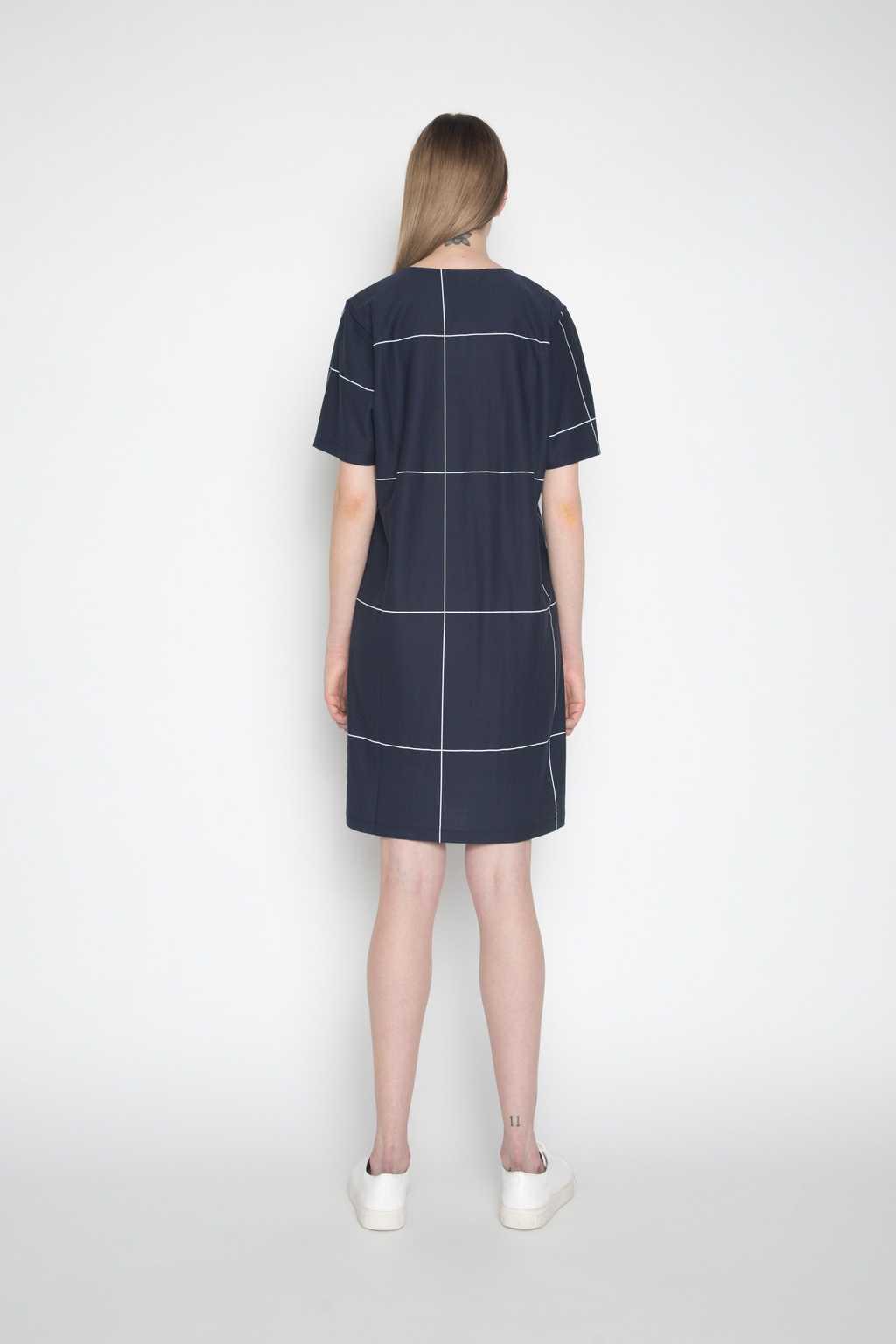 Dress 694 Navy 4