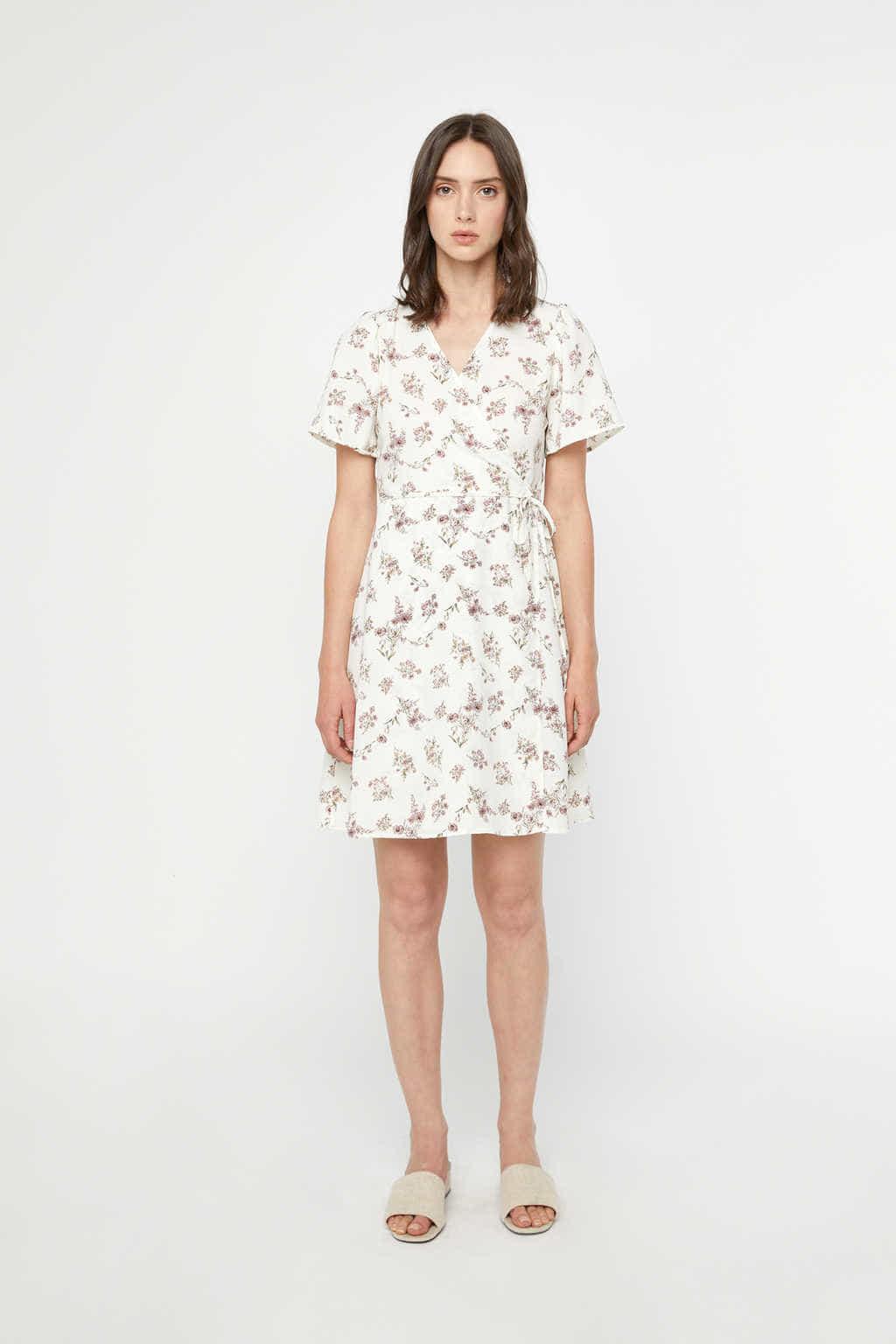 Dress K006 Cream 2