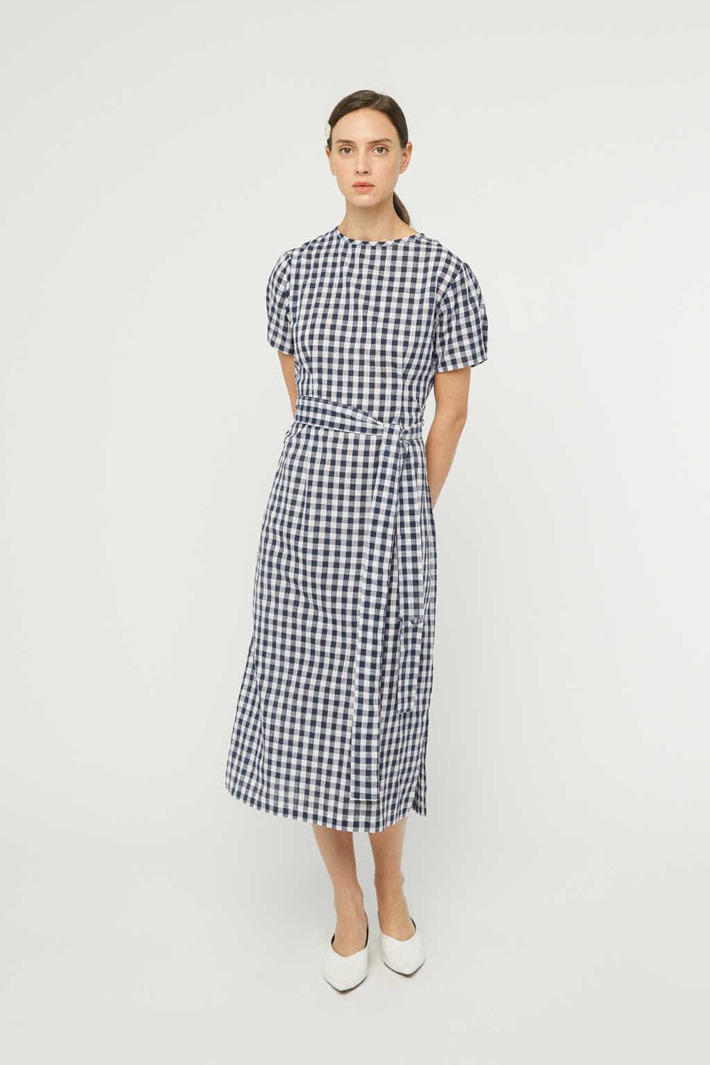 Dress K007 Navy 2