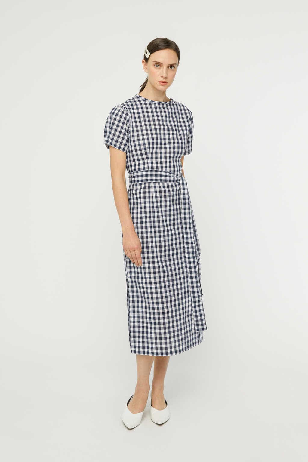 Dress K007 Navy 3
