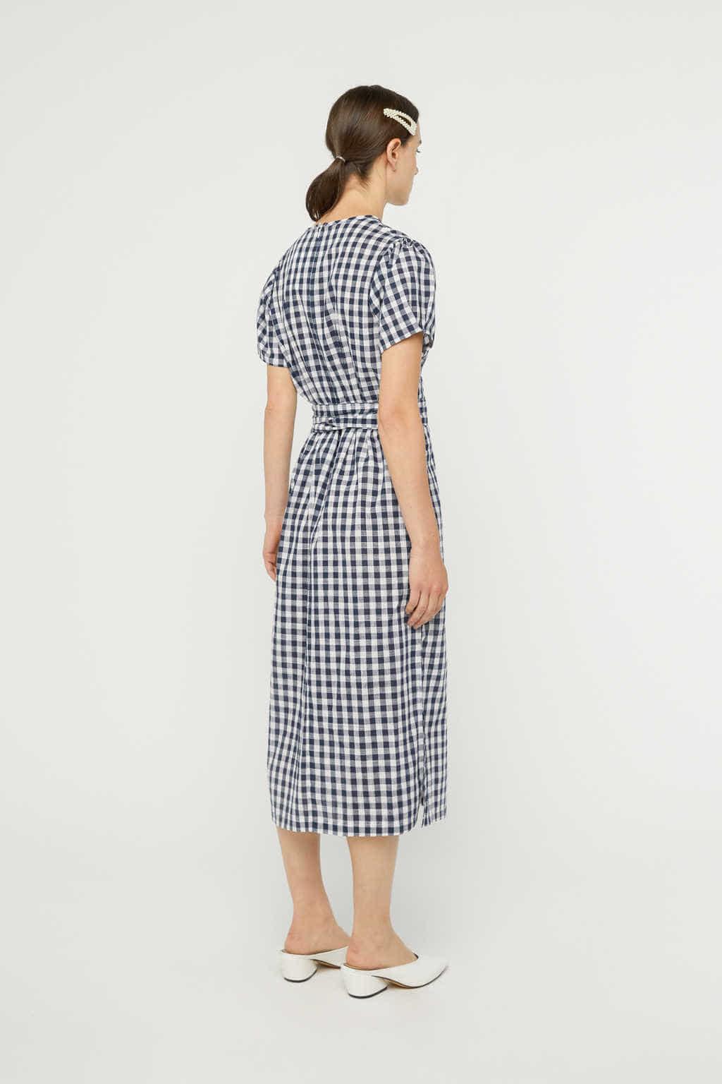 Dress K007 Navy 4
